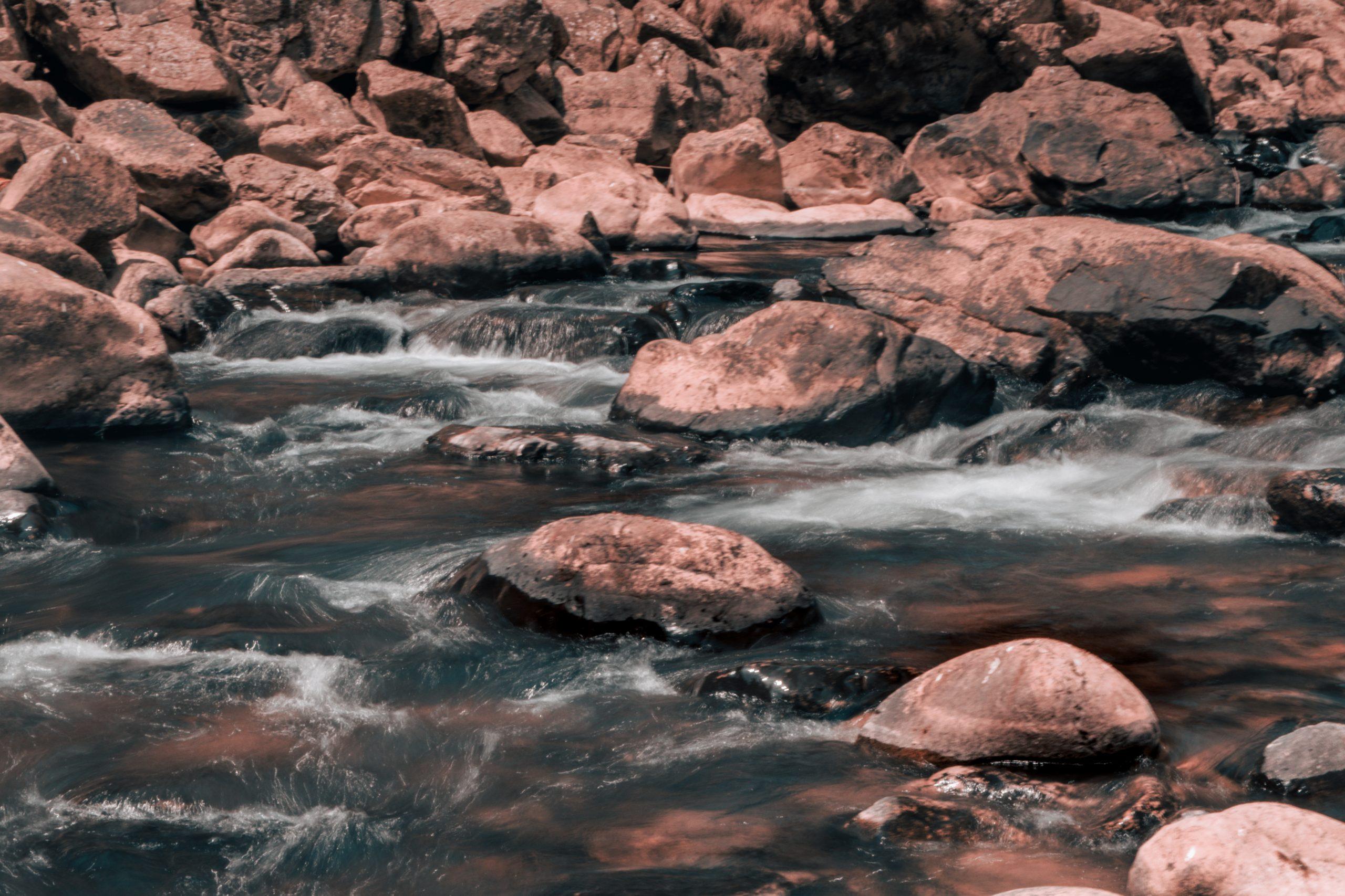 Rocks in the river