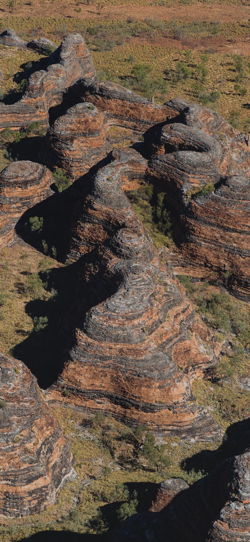 Rock texture on a mountain