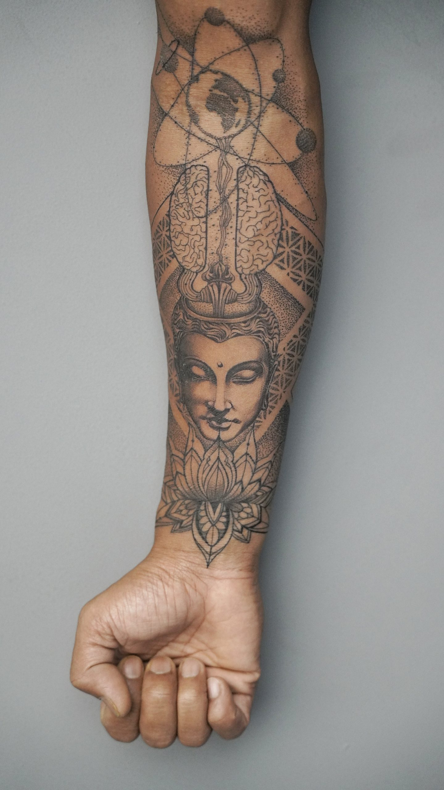 Tattoo made on wrist