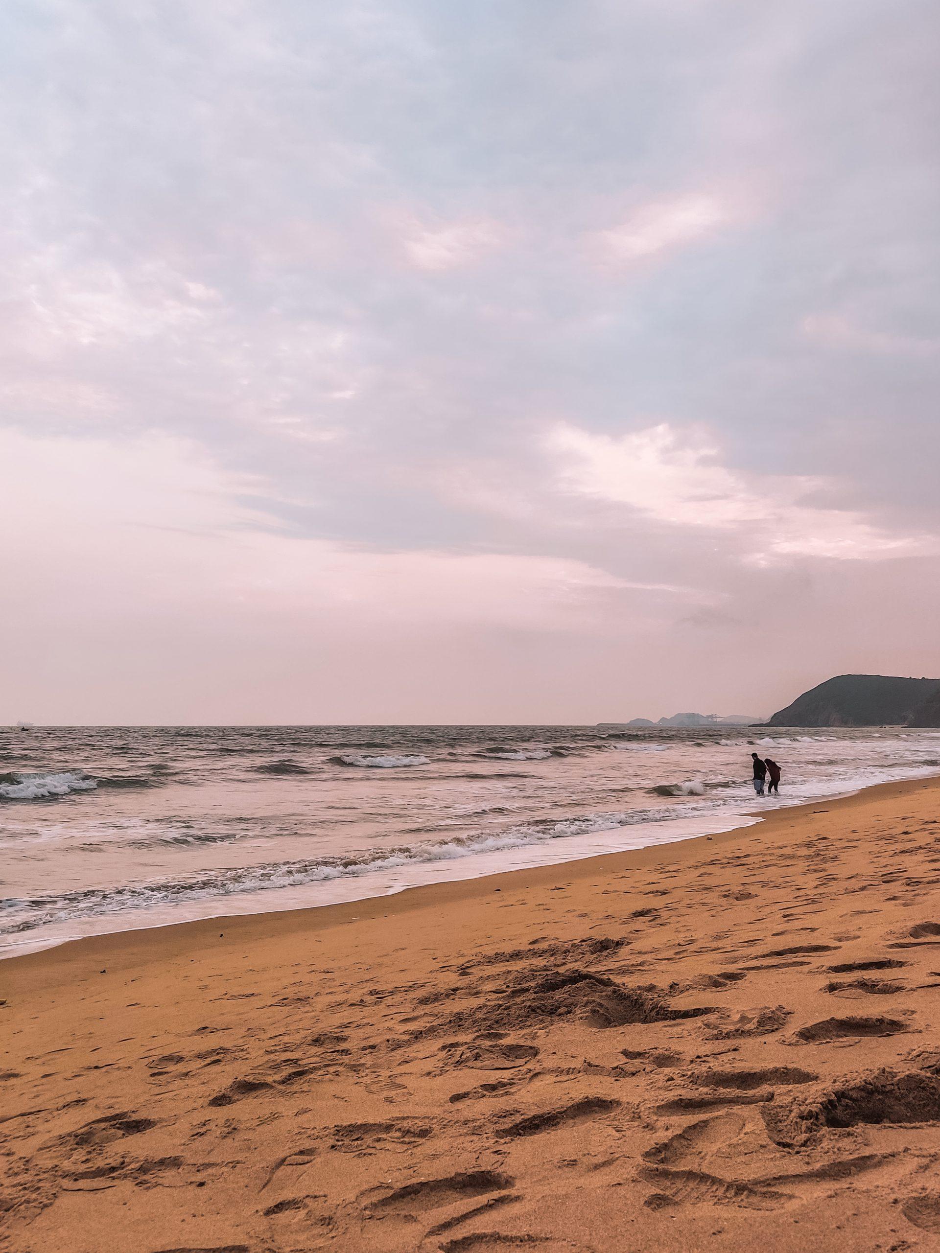 A seashore