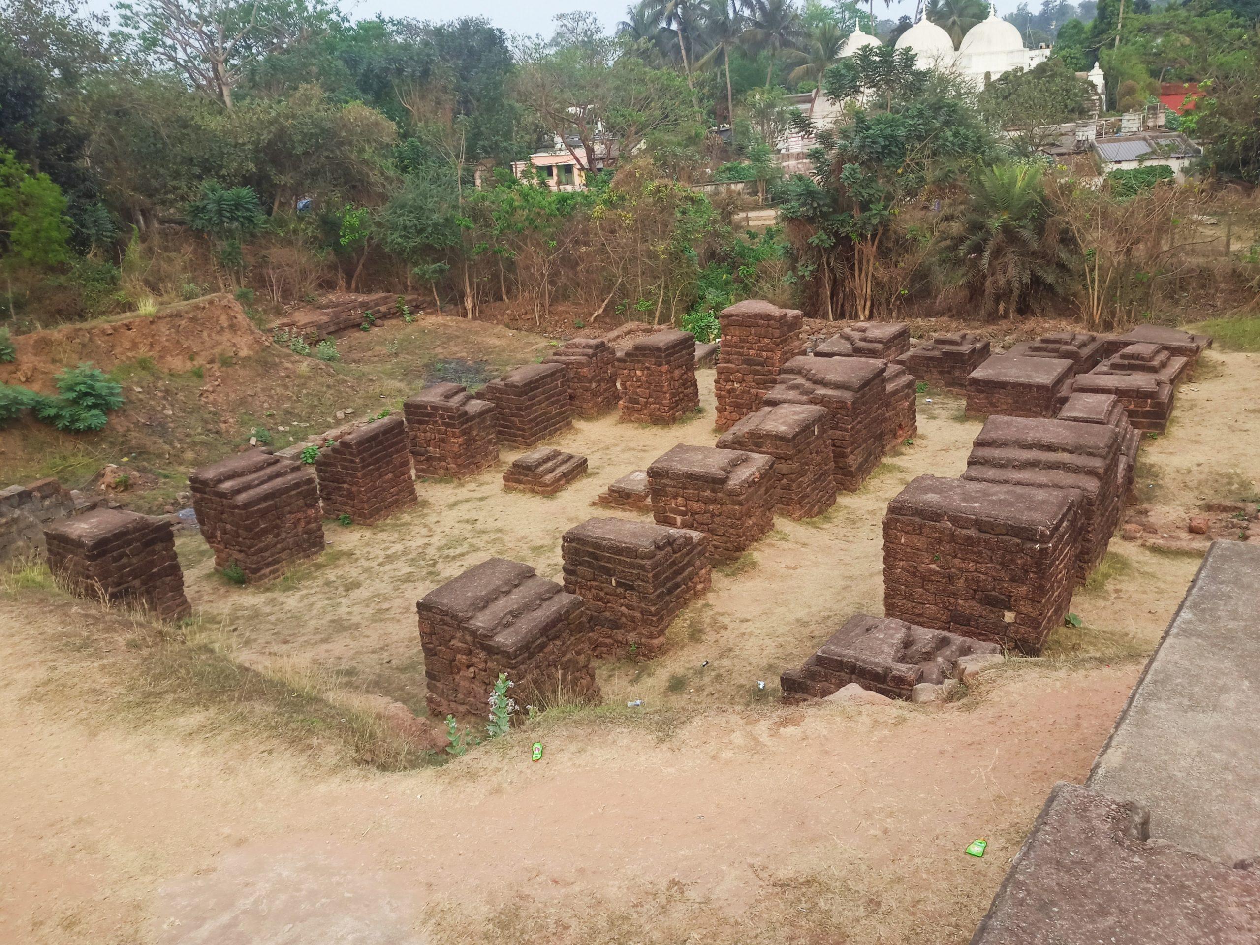 Ruins of Barbati fort
