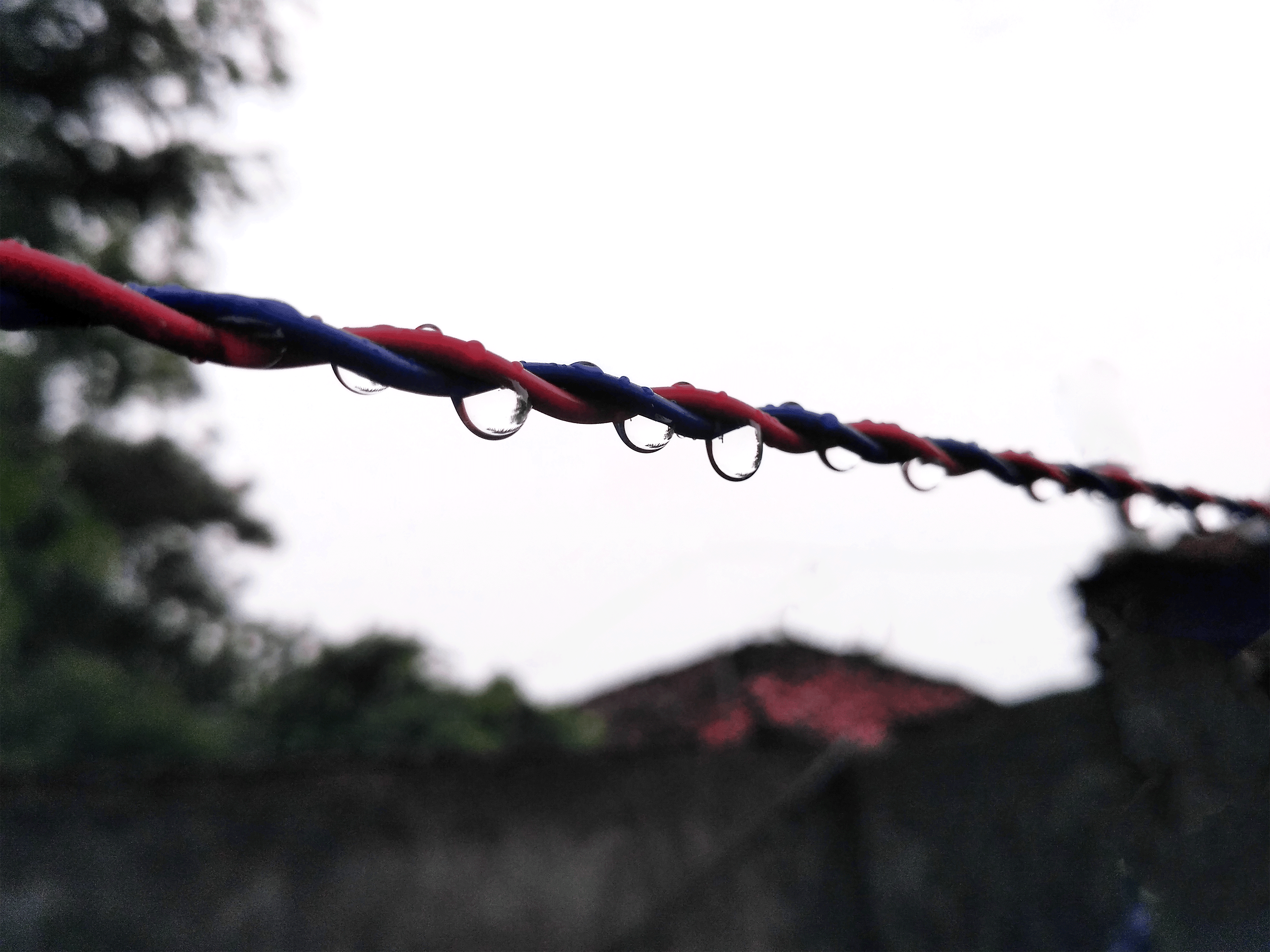 Drops on wire