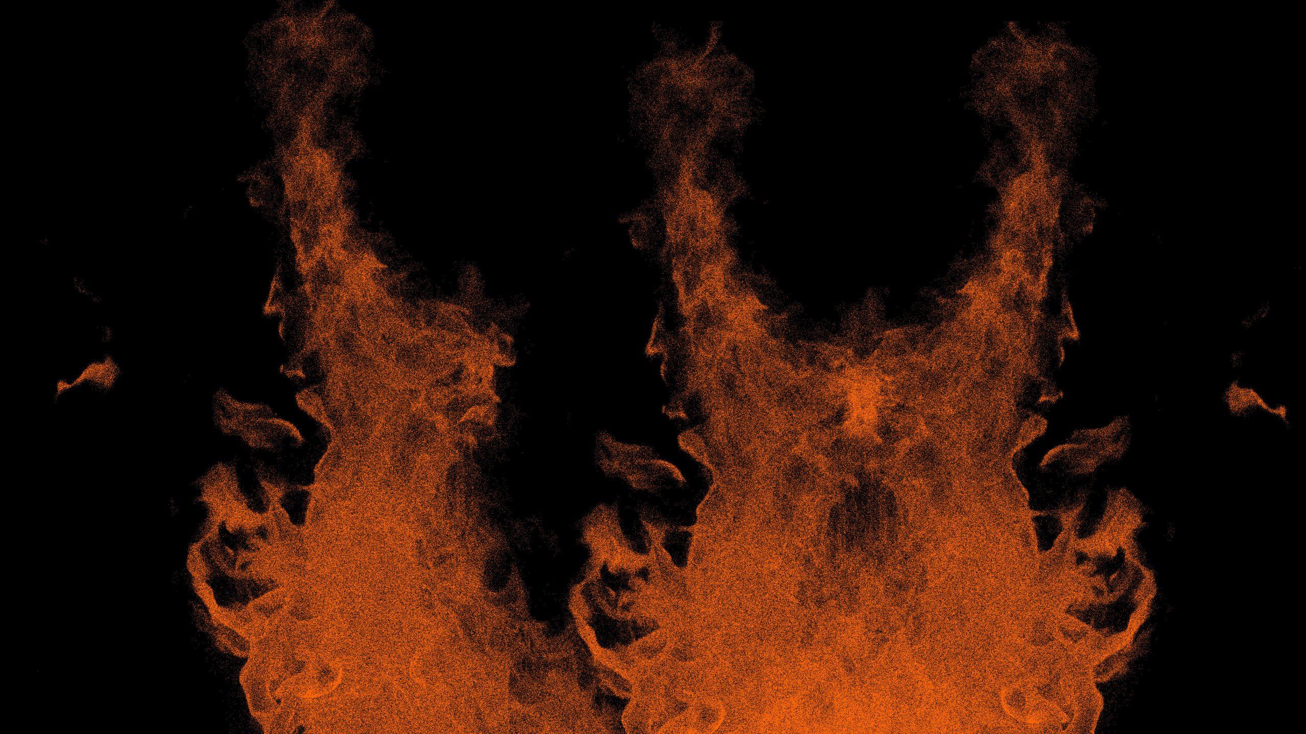 Fire flames illustration