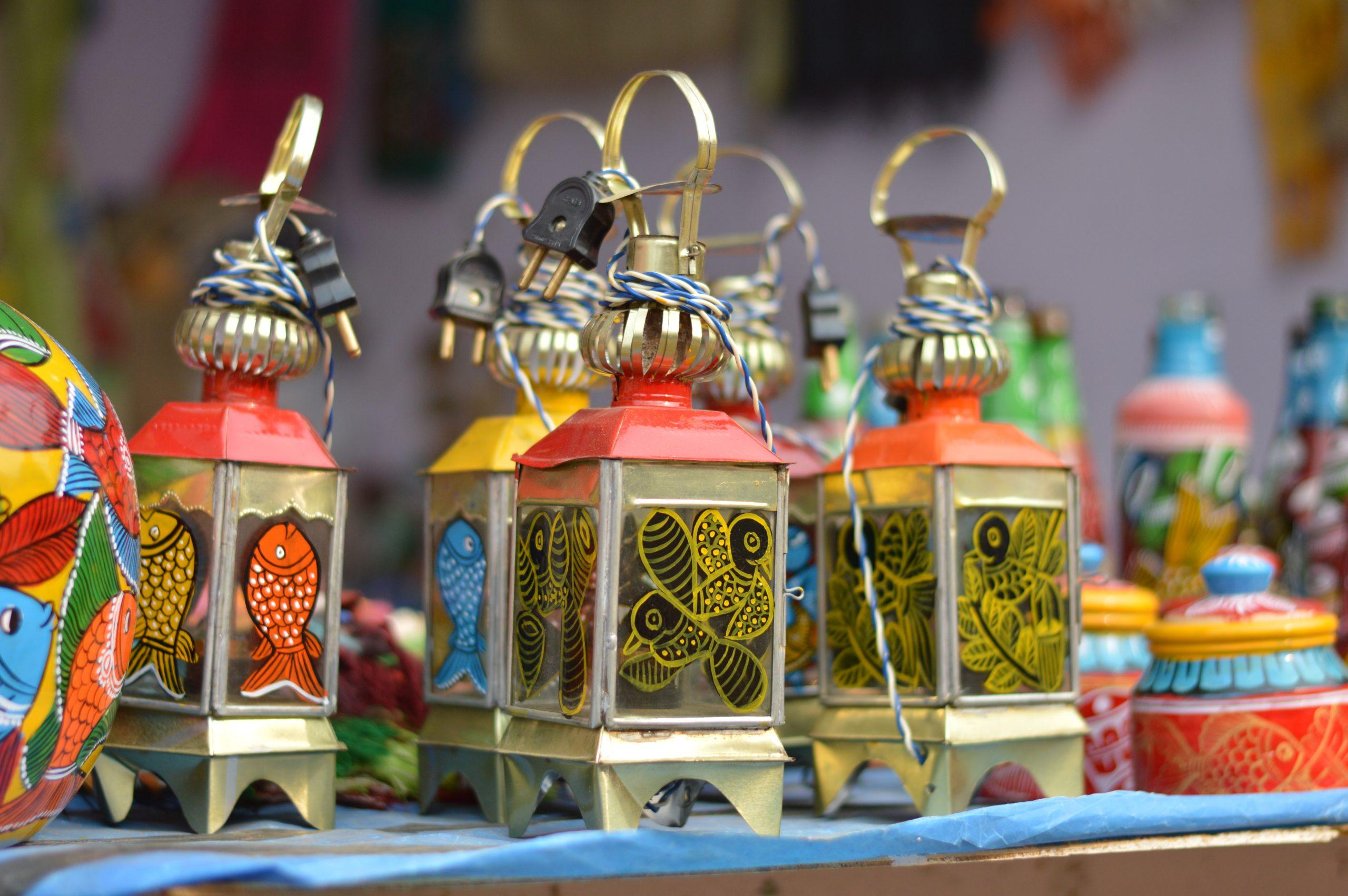 Vintage style LED lanterns