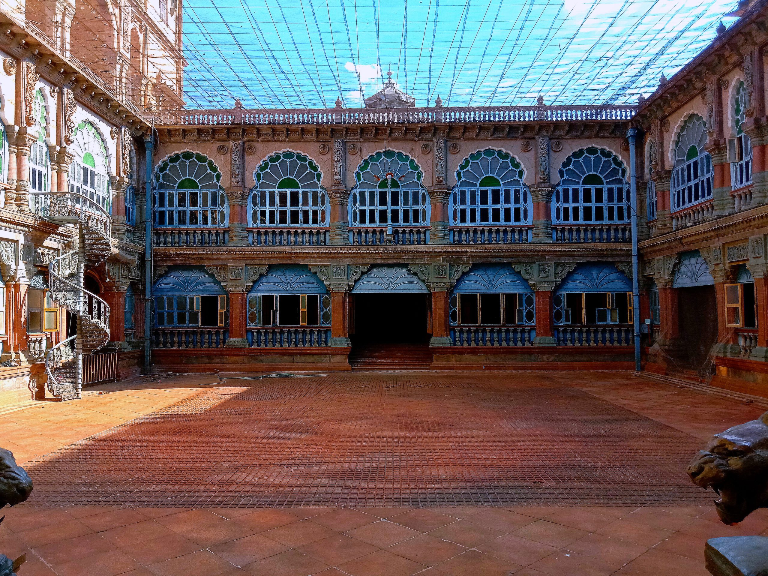 Courtyard of a palace