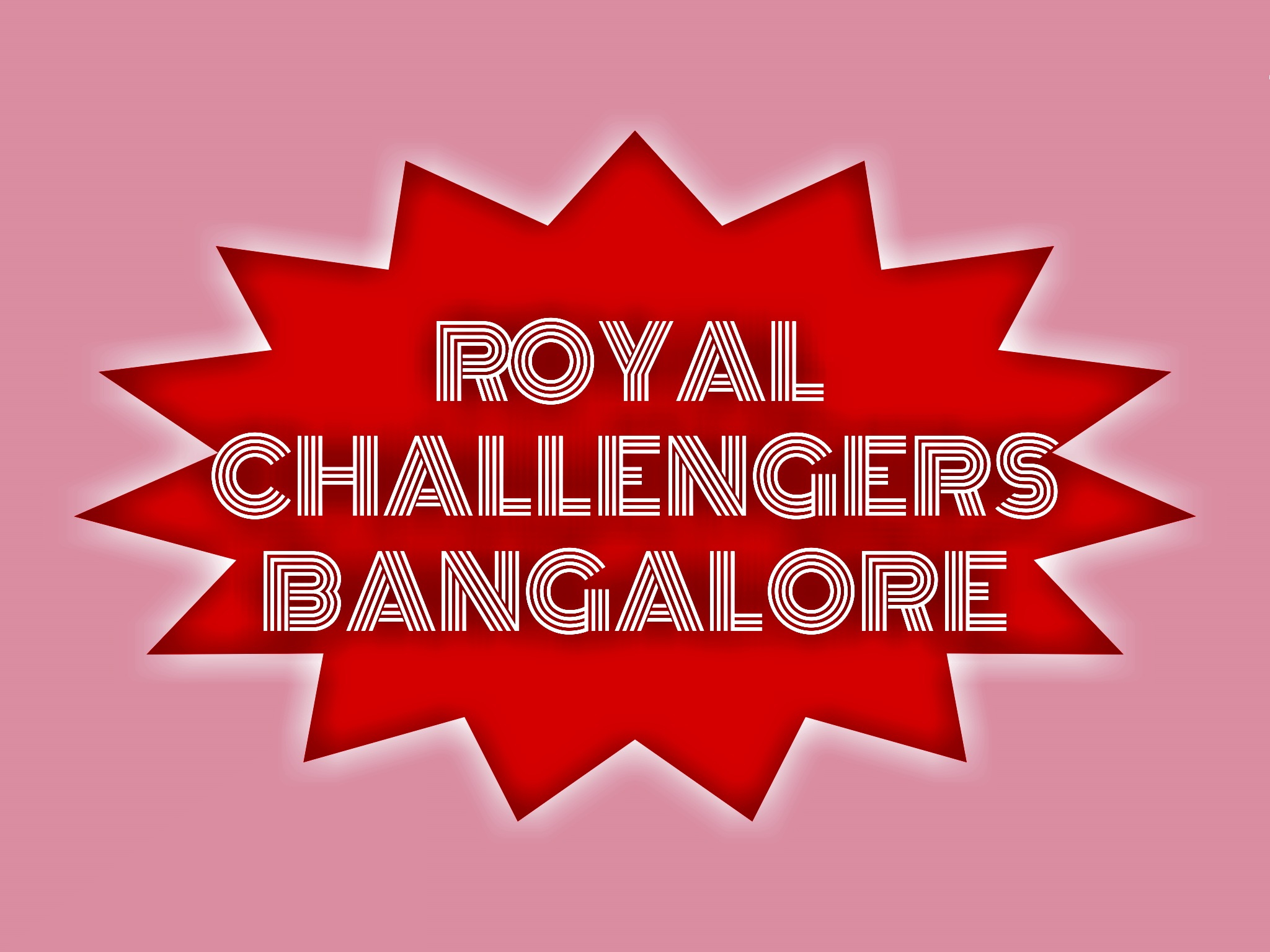Royal challengers Bangalore illustration