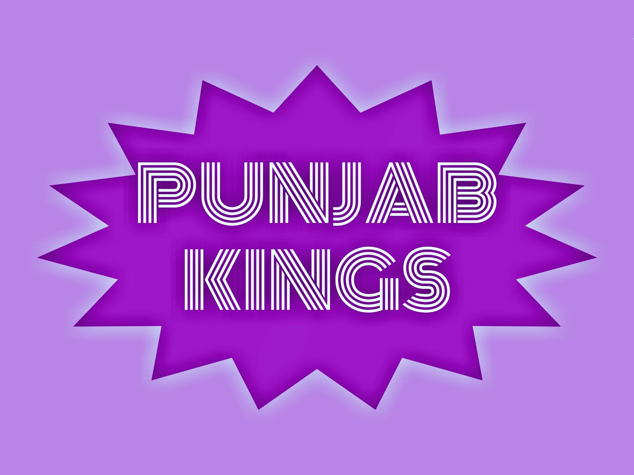 IPL team Kings eleven Punjab illustration