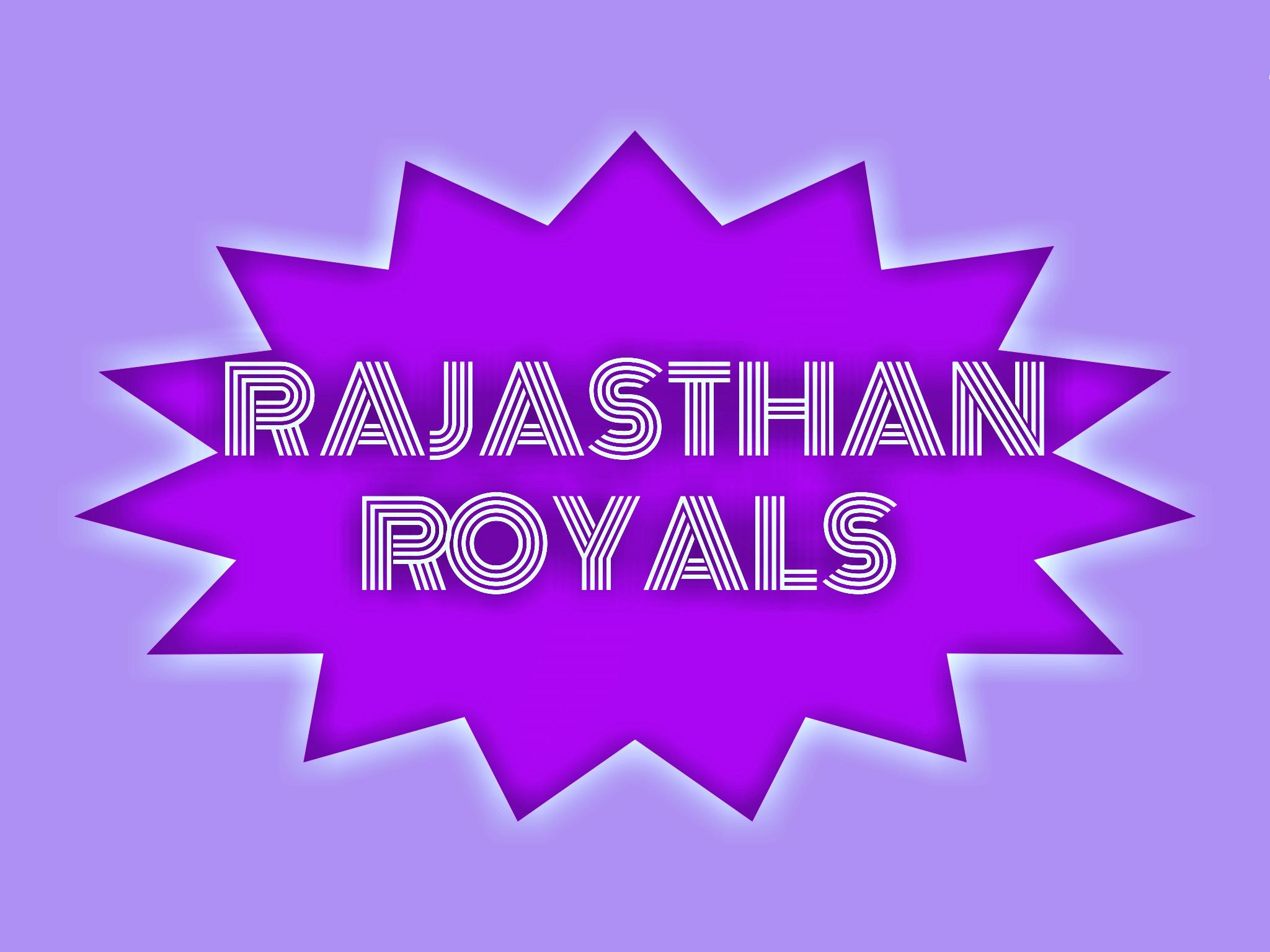 IPL team Rajasthan royals illustration