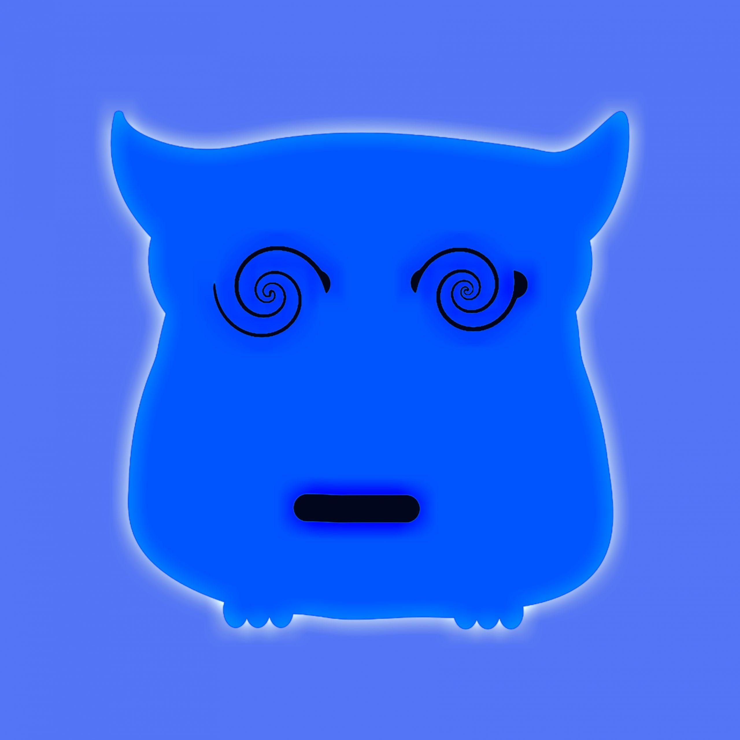 A cat face illustration