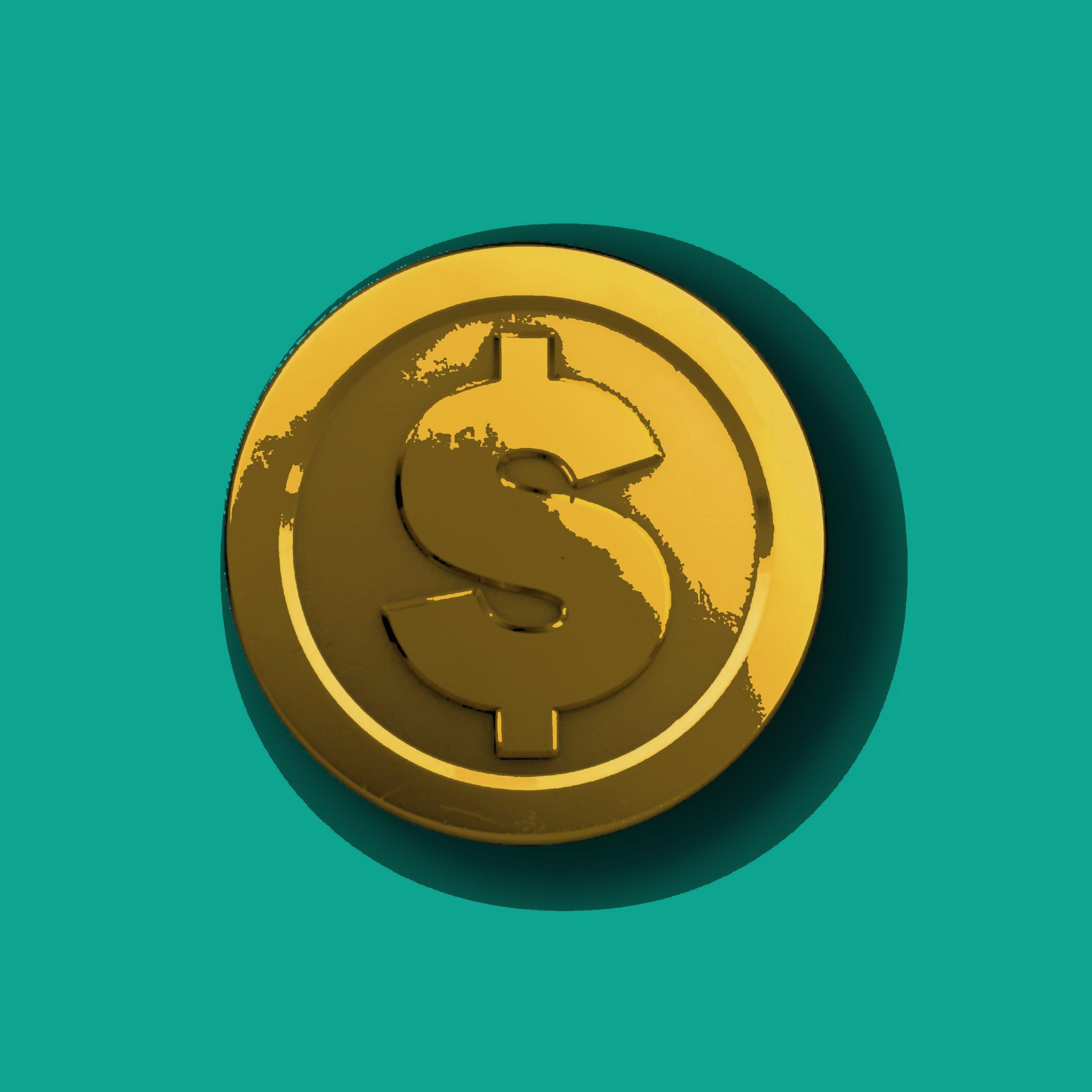 A bitcoin illustration