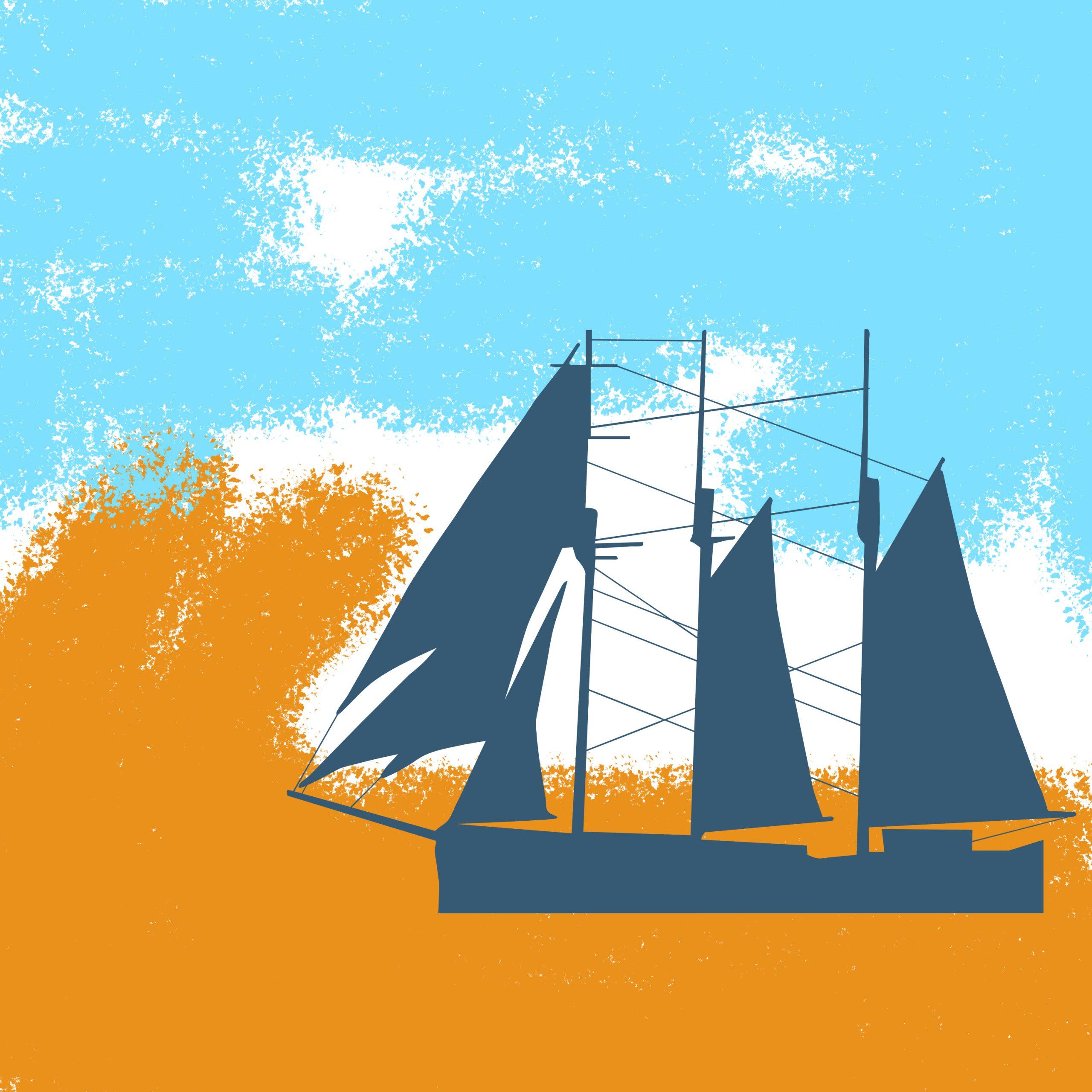 A boat illustration