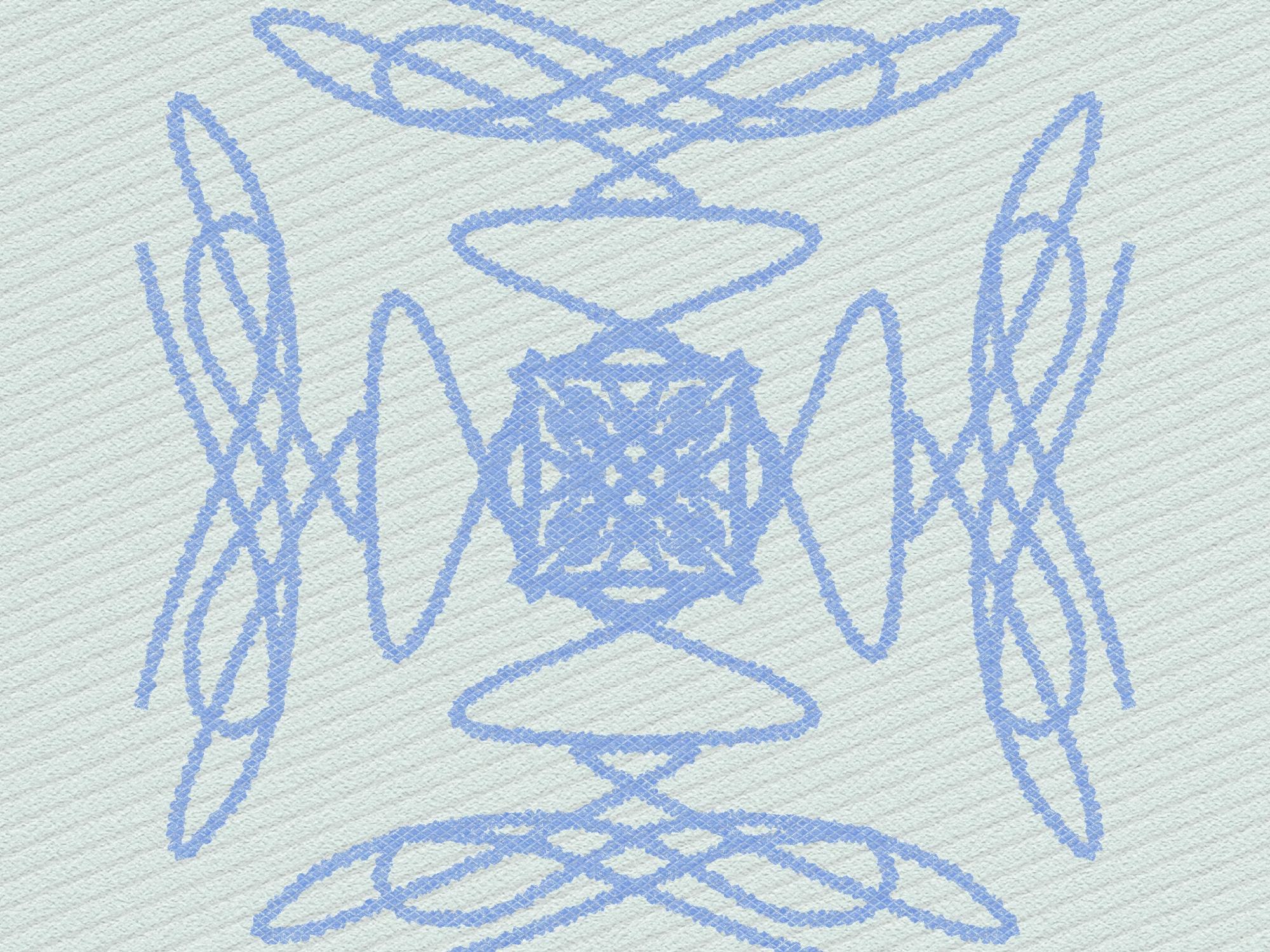 A design made with line arts