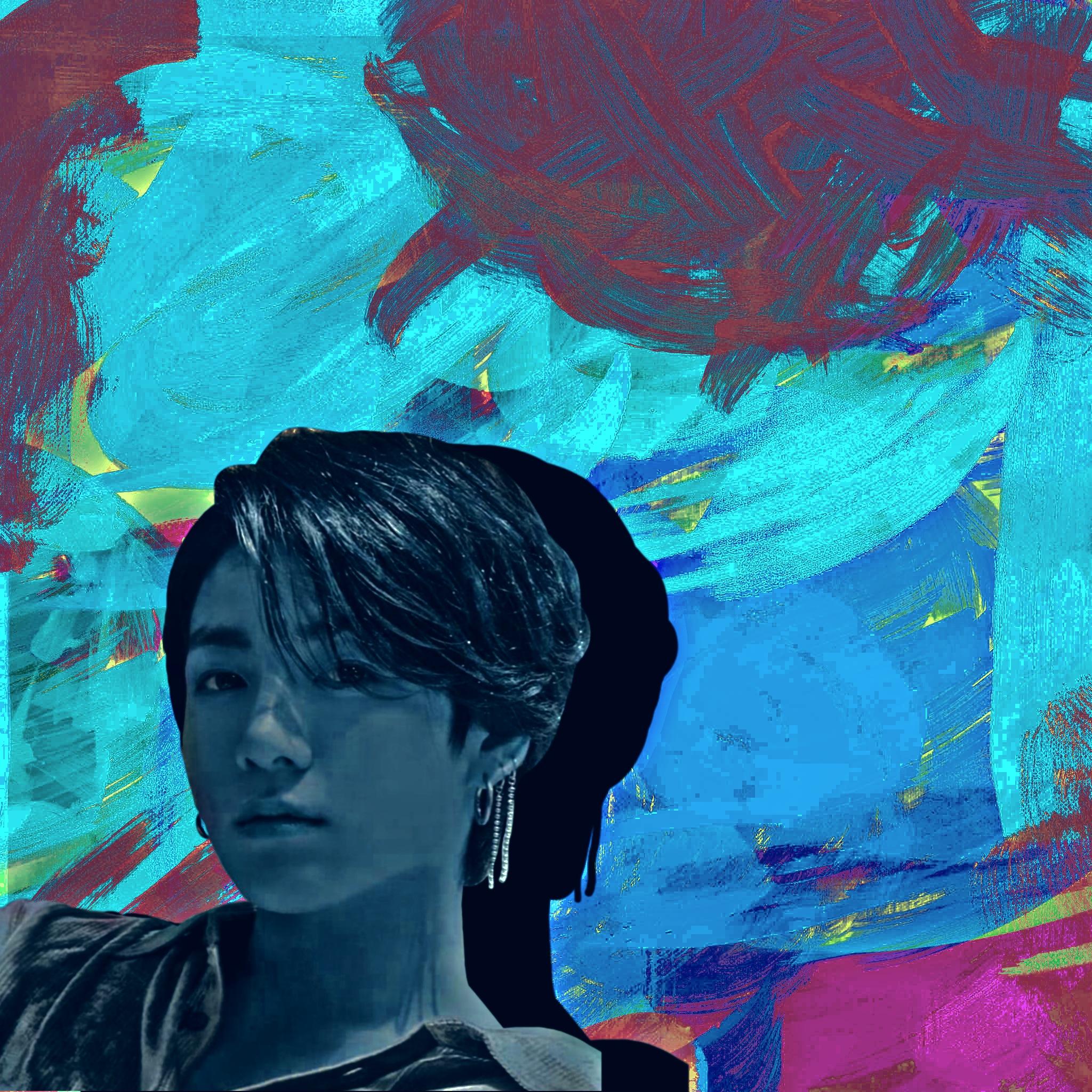 Boy face illustration