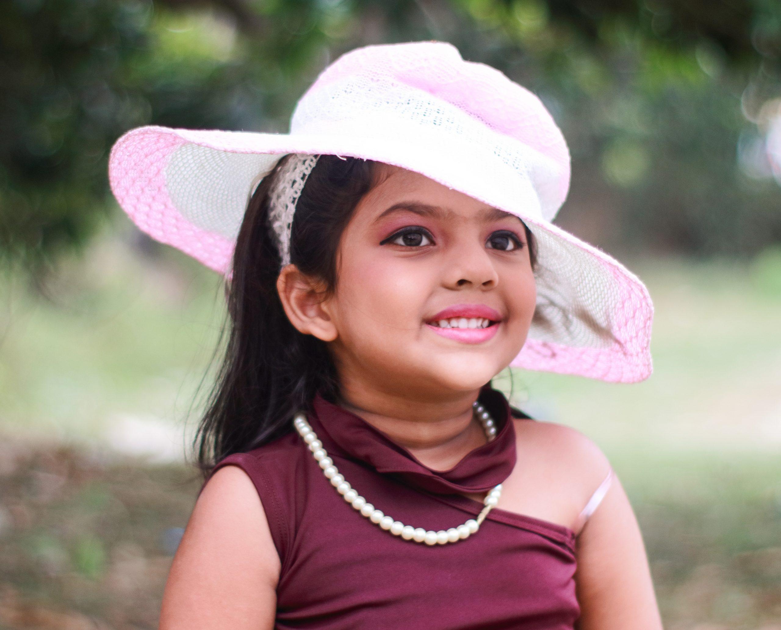 A stylish cute girl