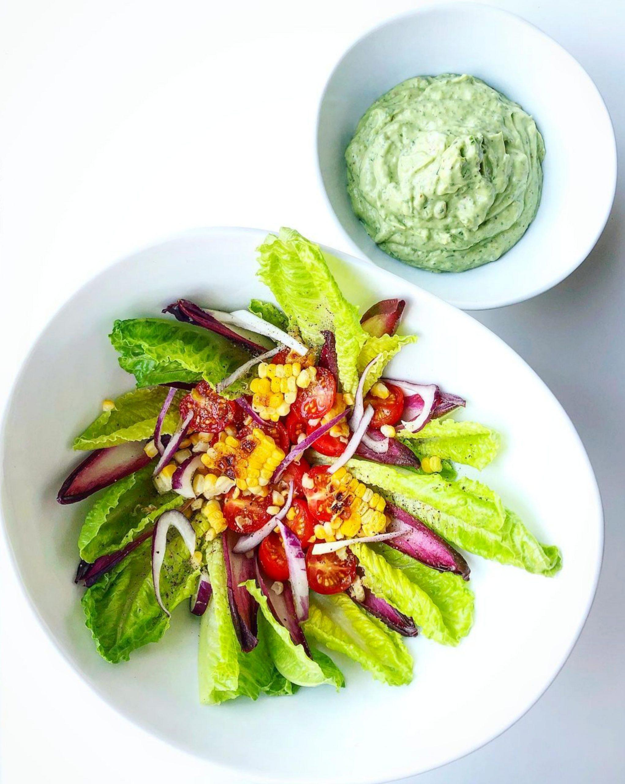 A vegetarian food dish