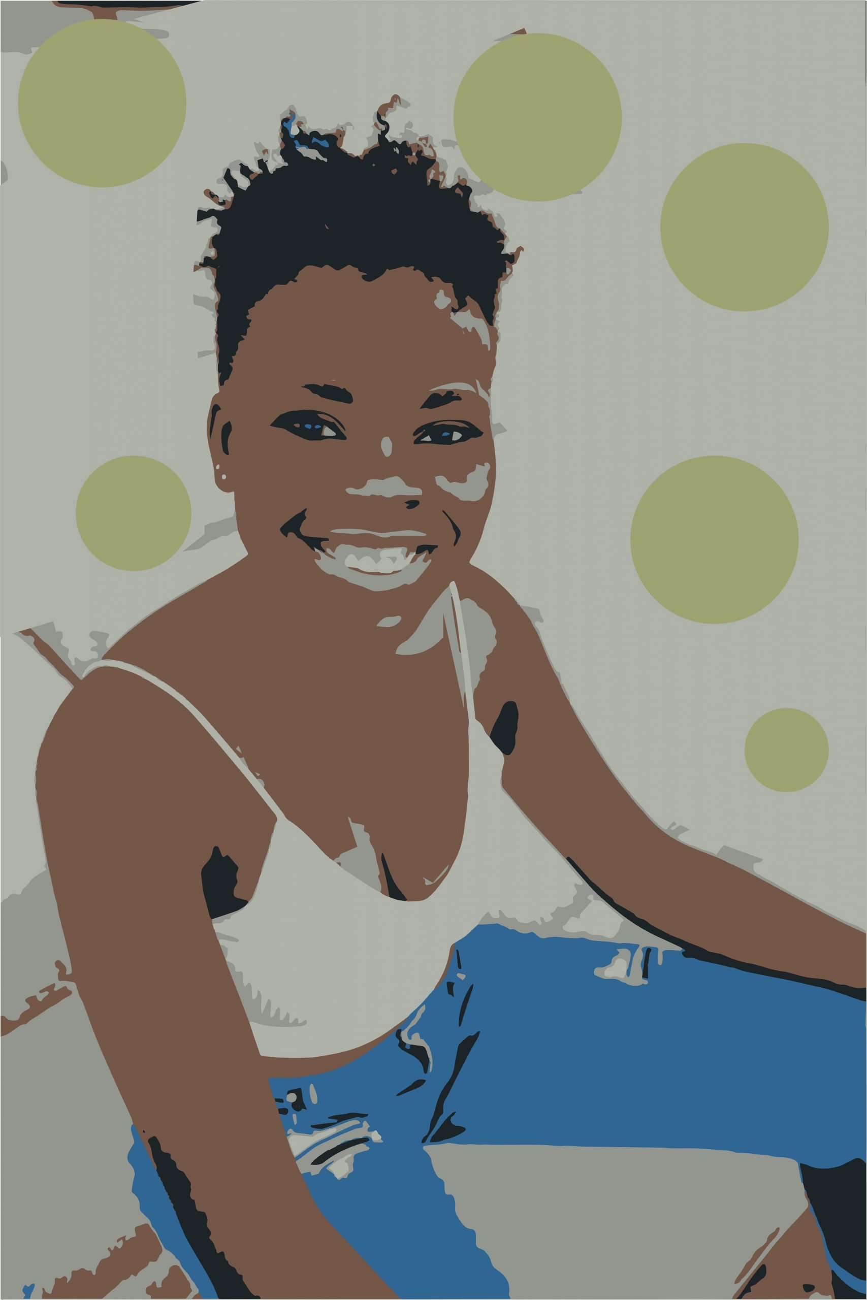 A woman's portrait