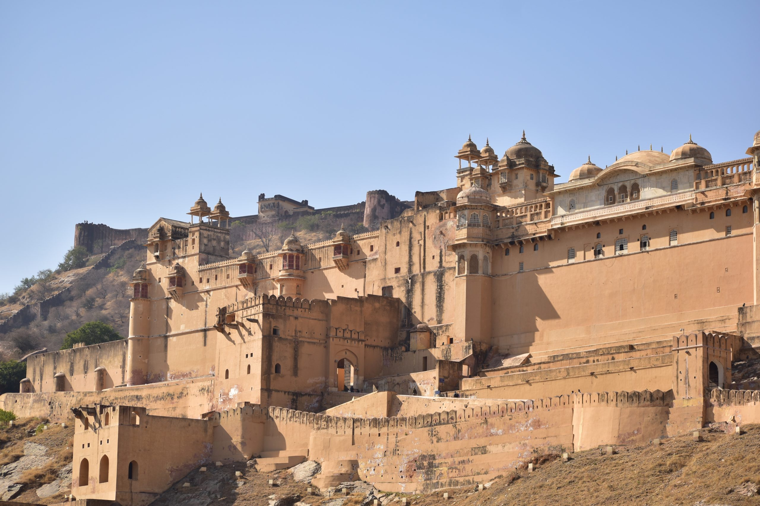 Aamer fort in Jaipur