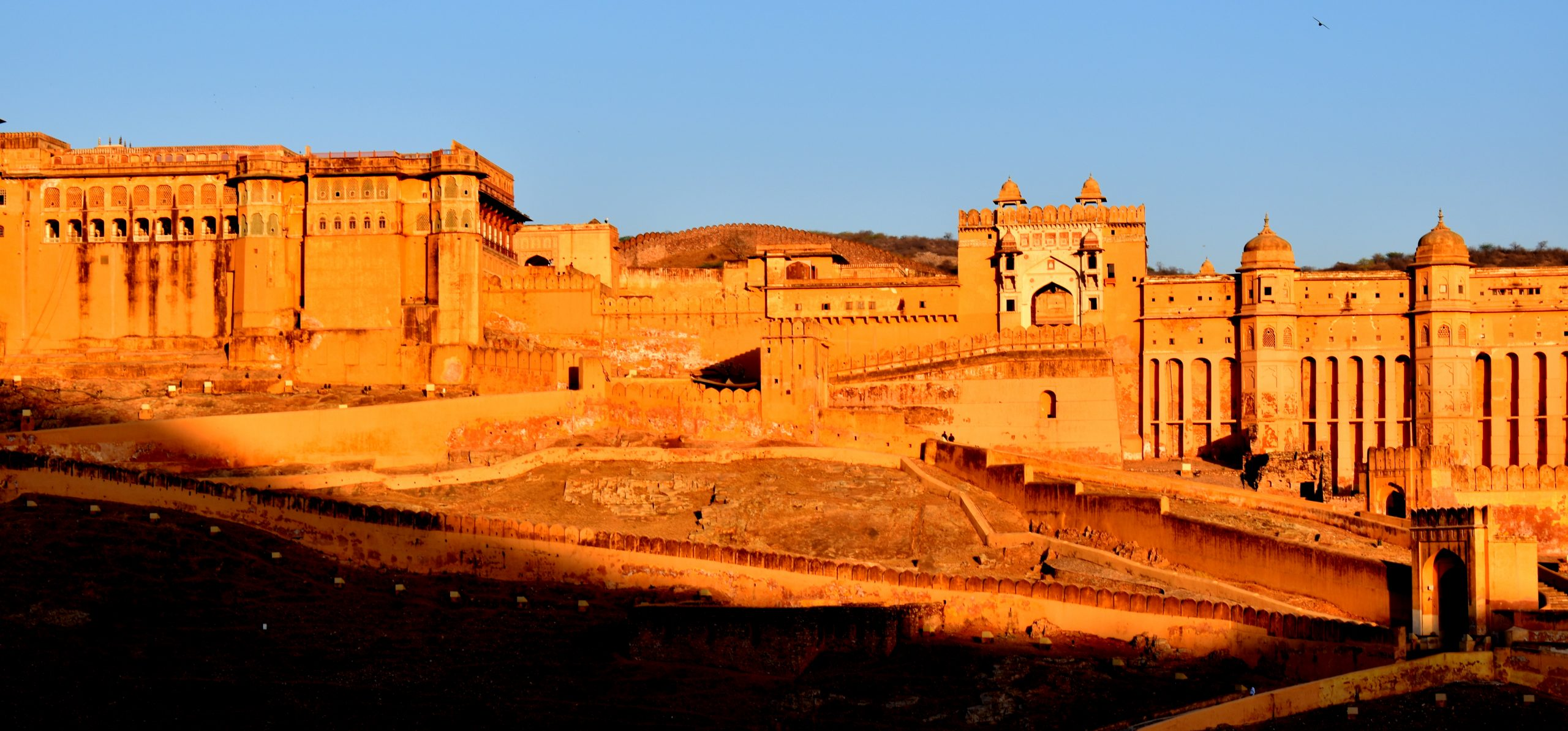 A view of Amer Fort in Jaipur
