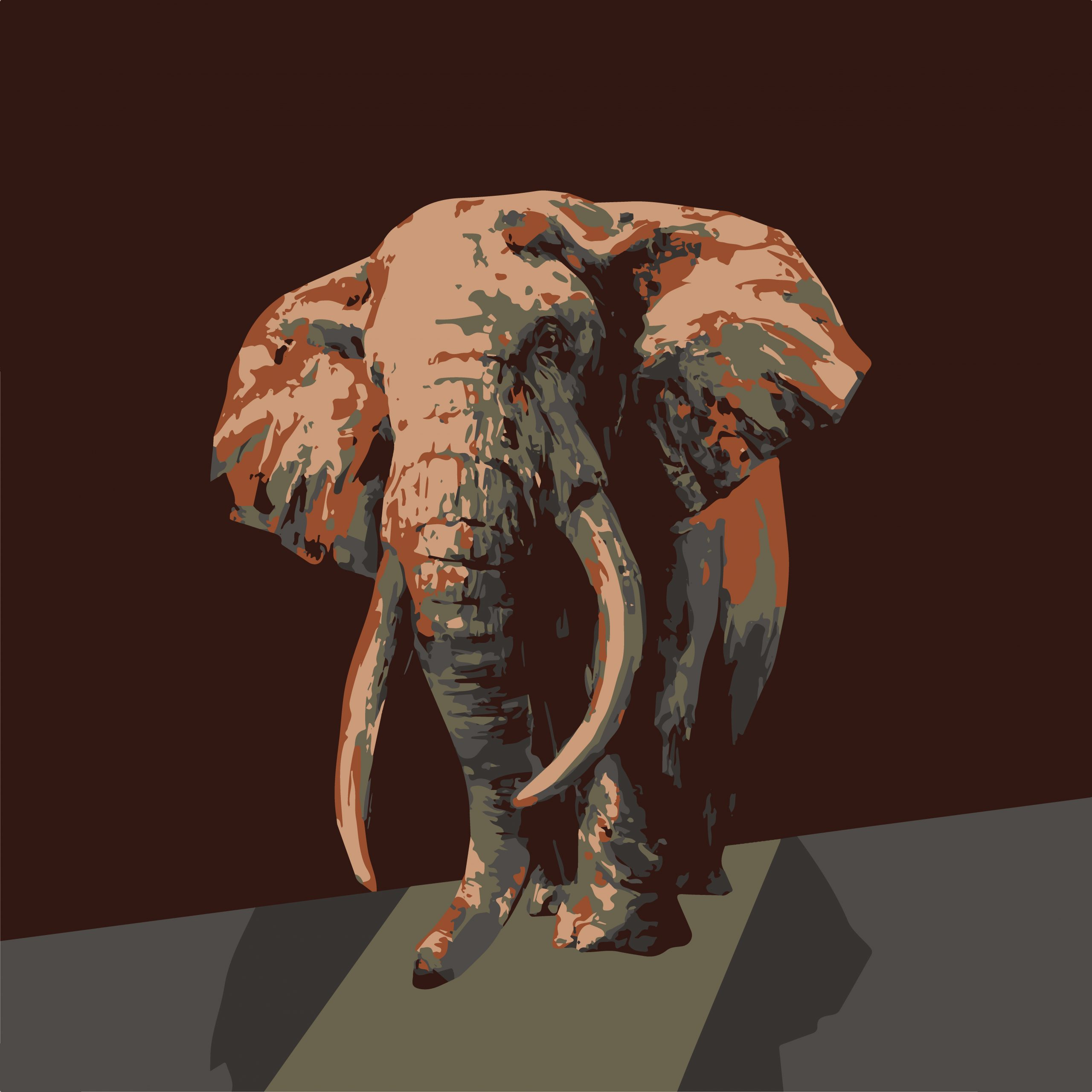 An elephant illustration