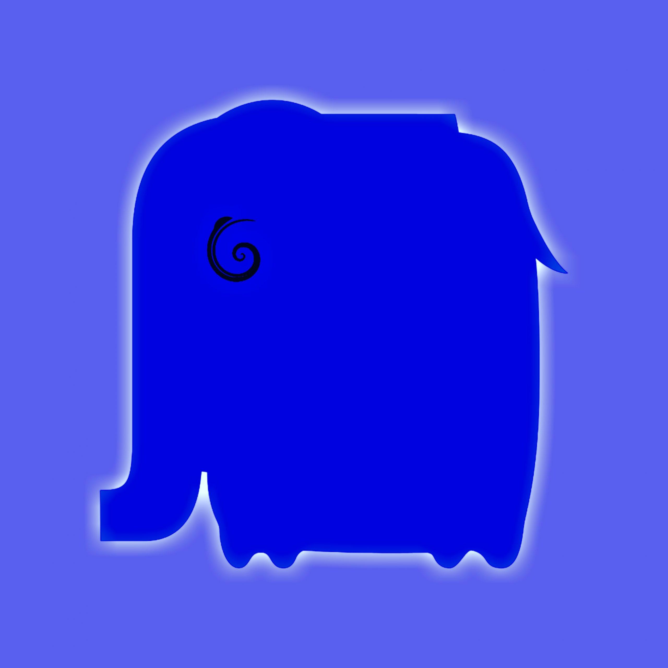 An elephant illustration