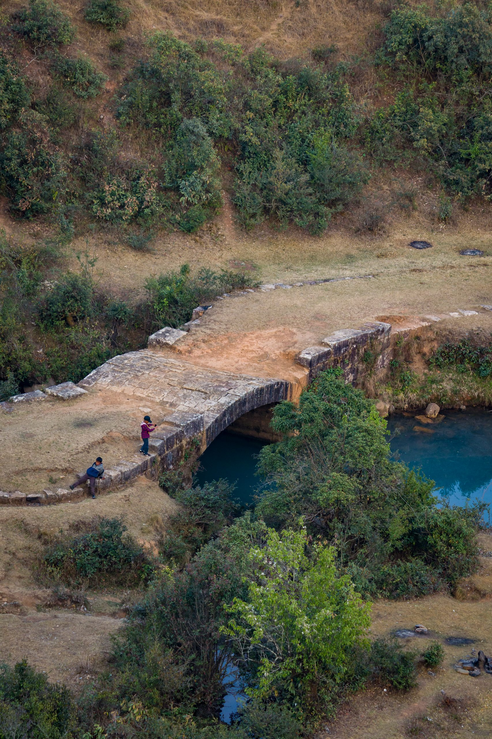 Ancient bridge of village
