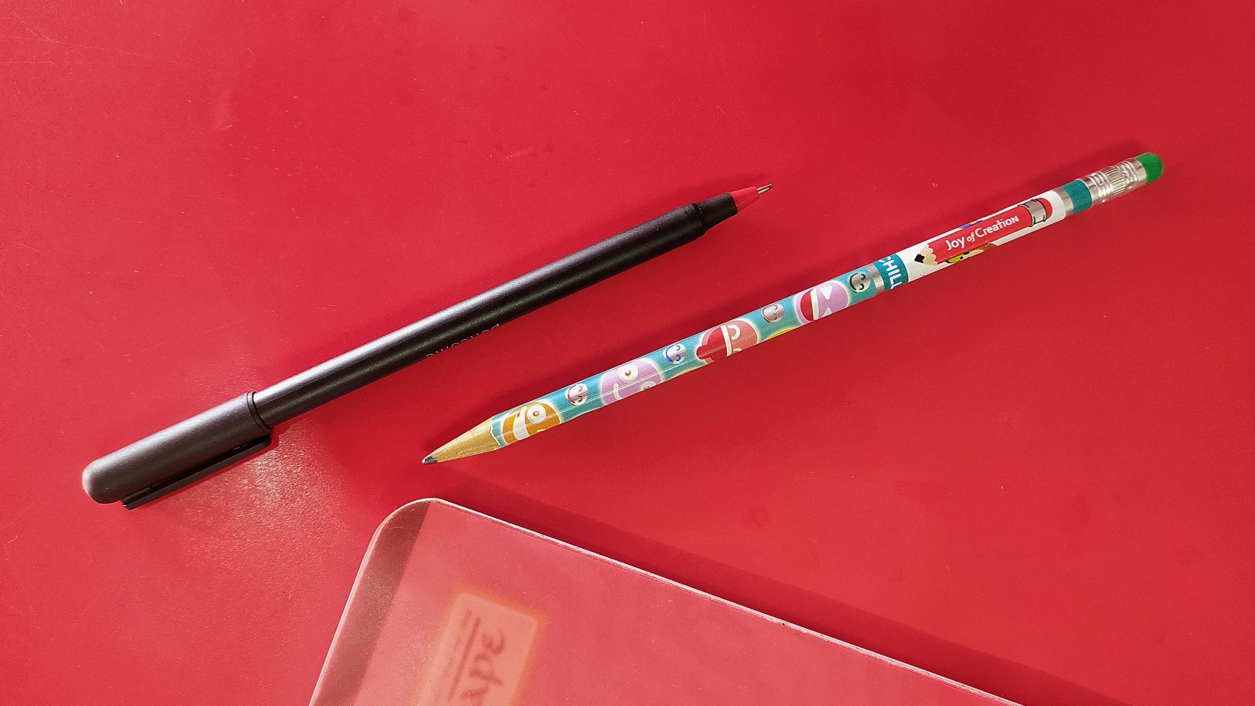Ball pen with sketch pen