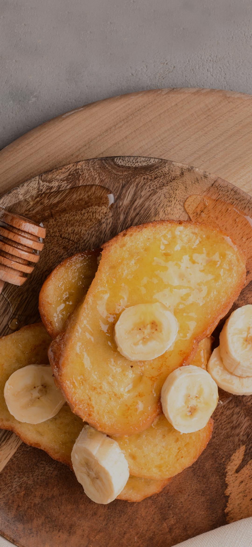 Banana in the food
