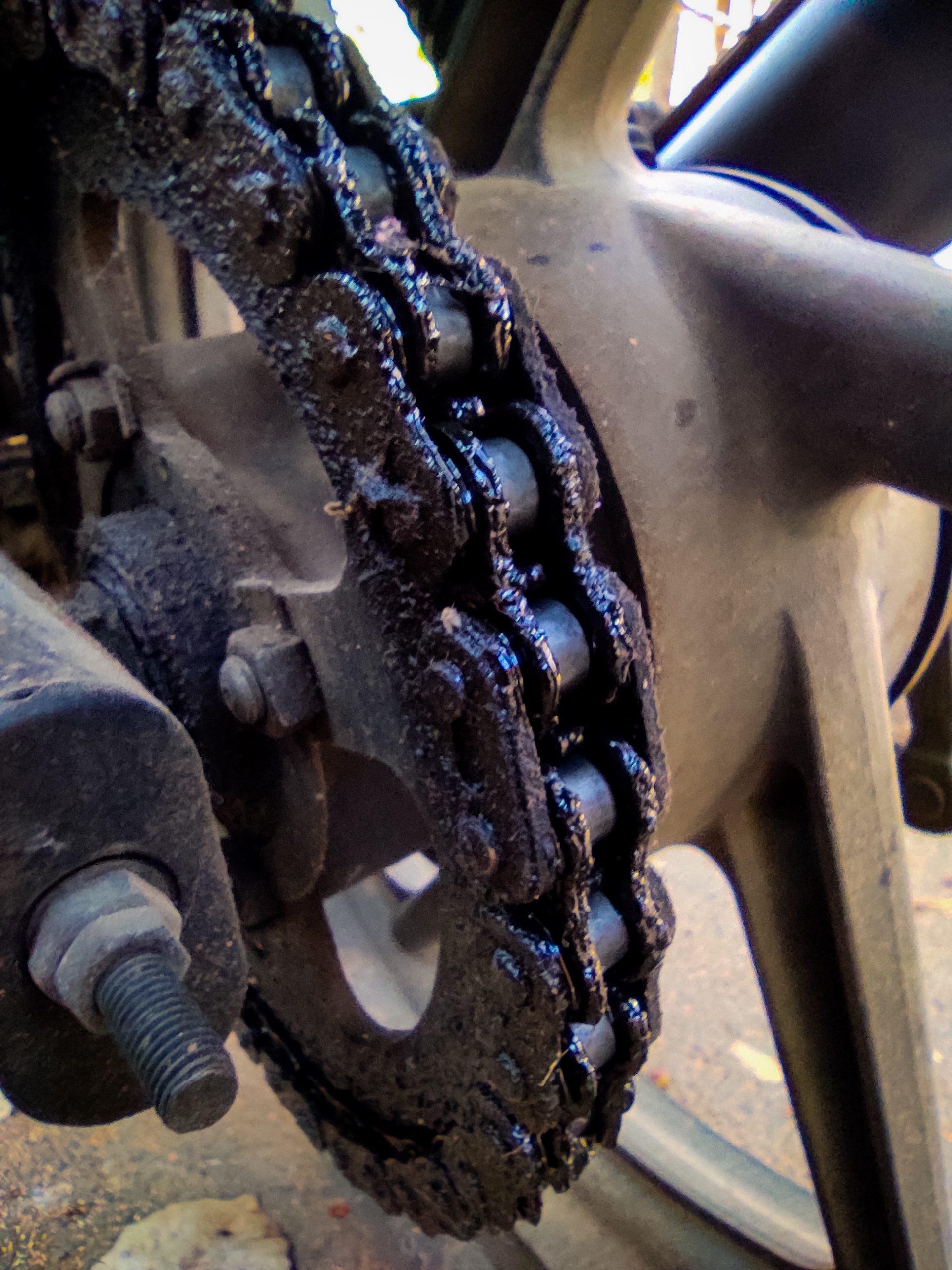 Bike chain set