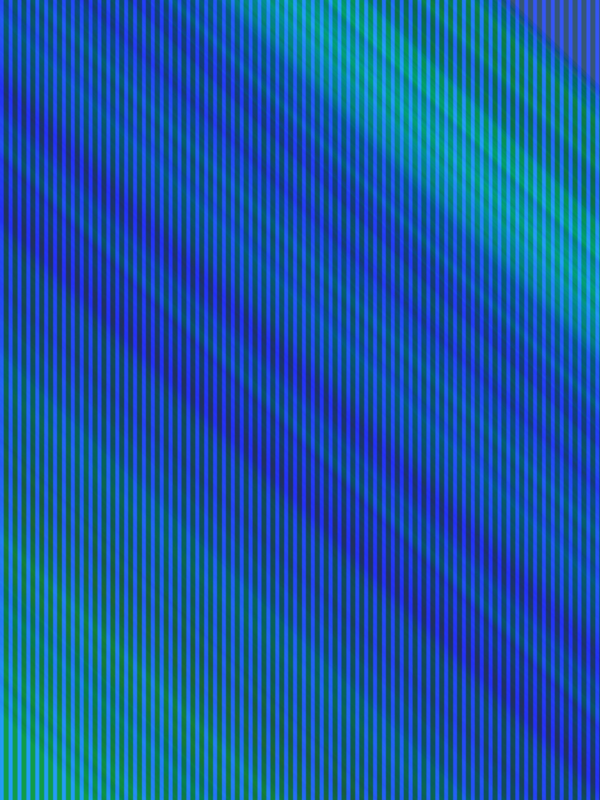 Blue shade lined wallpaper