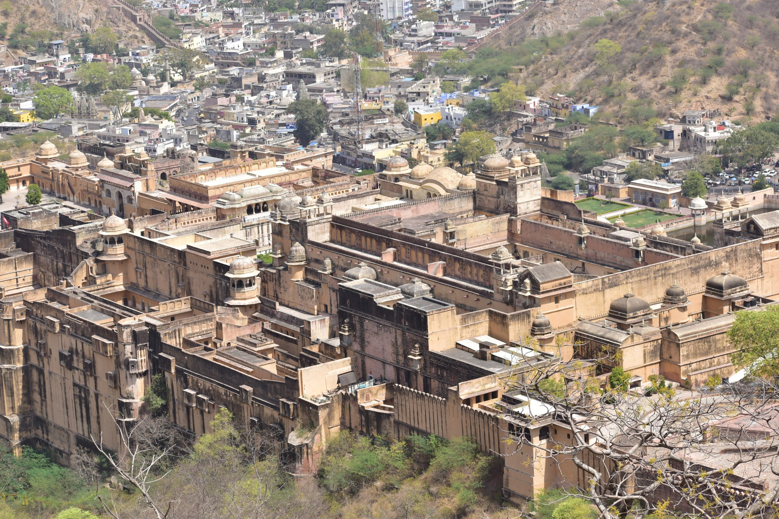 Buildings near Amer fort
