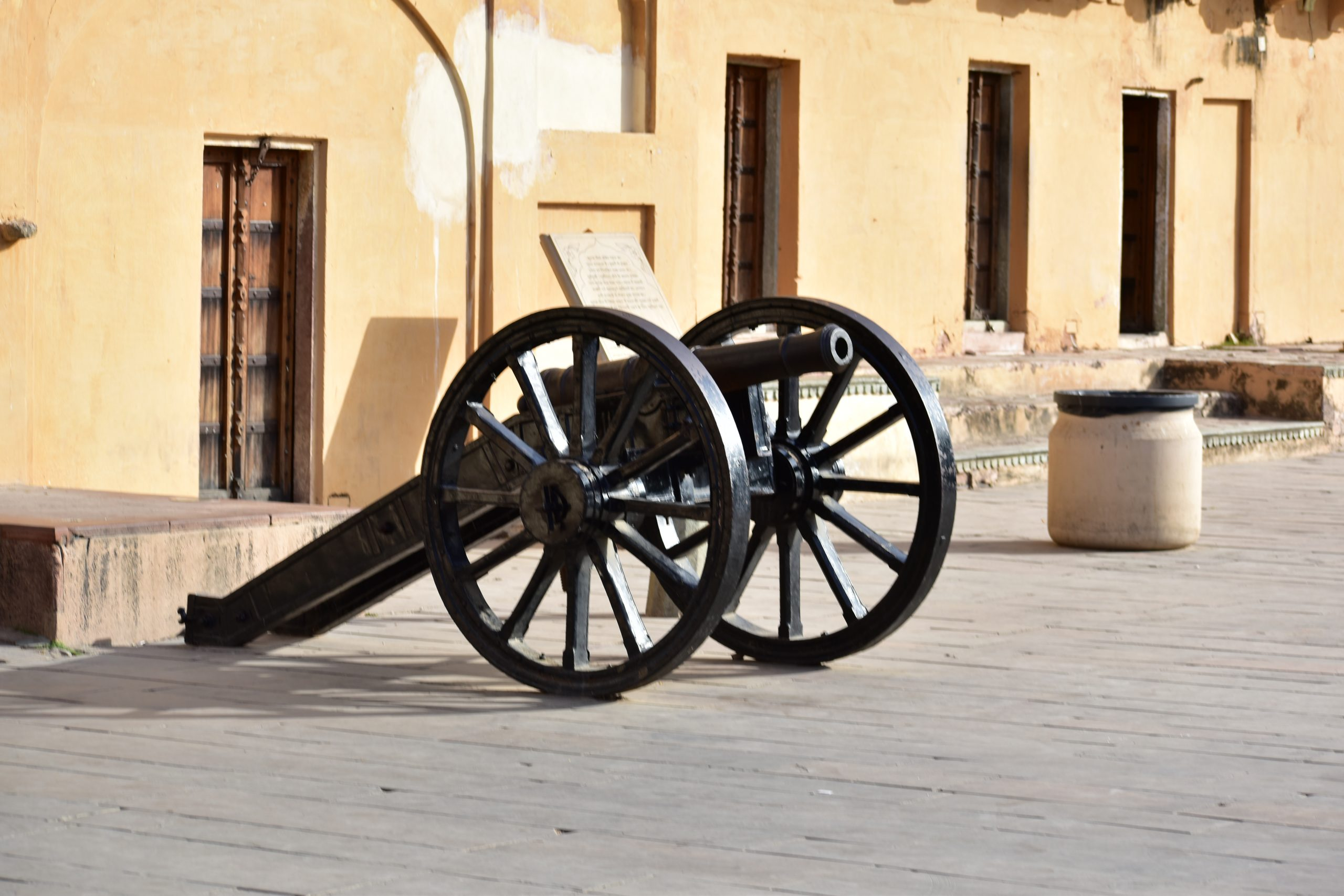 Canon in the fort