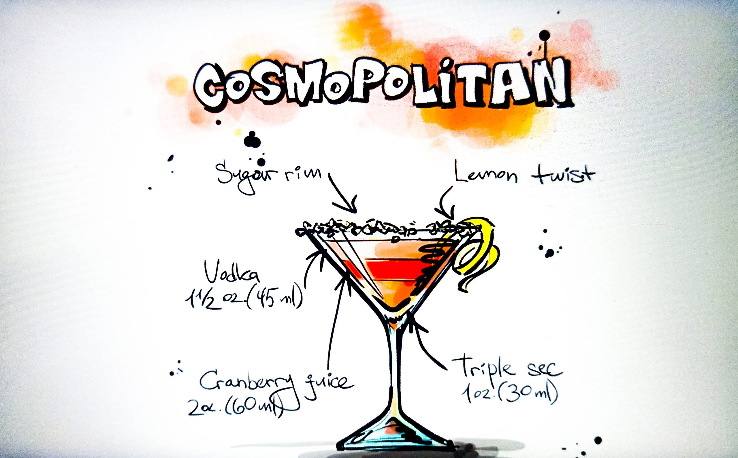Cosmopolitan Illustration