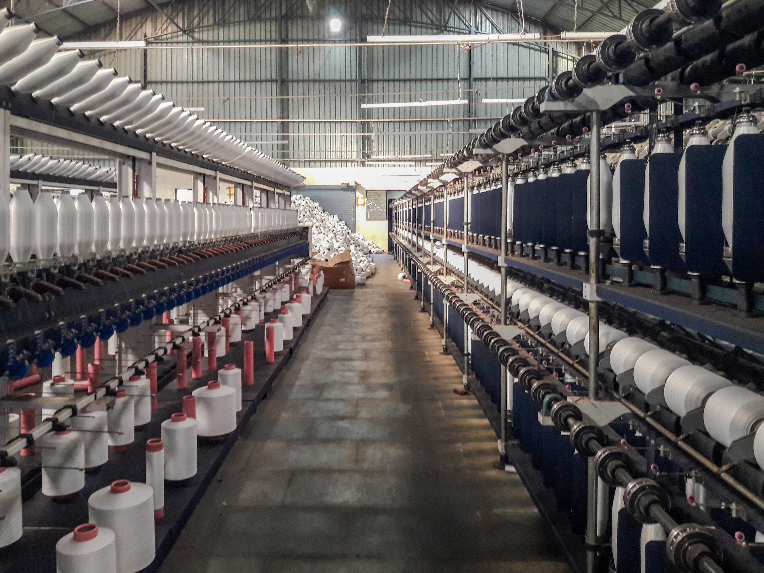 Cotton roll factory