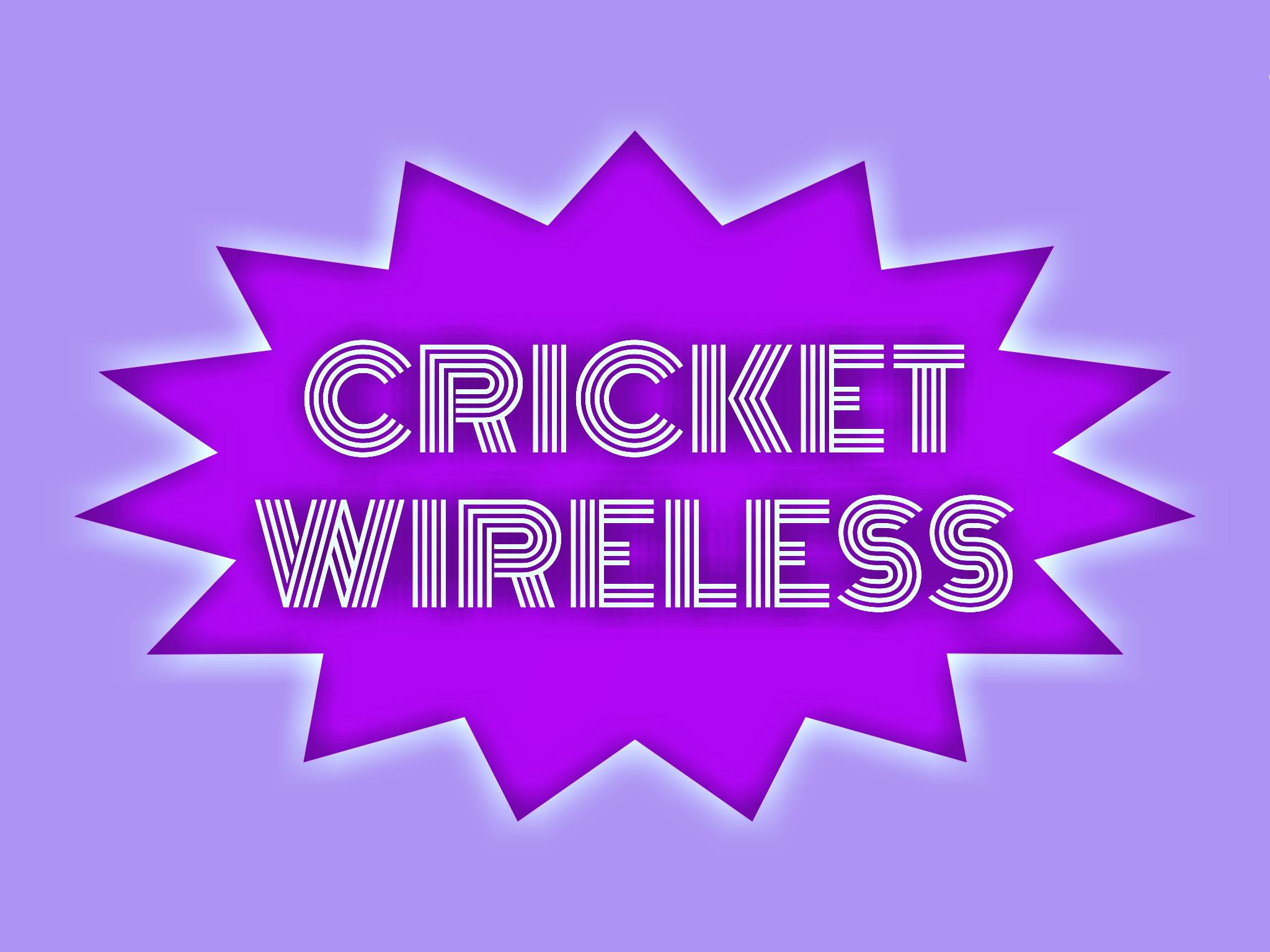 Cricket wireless illustration