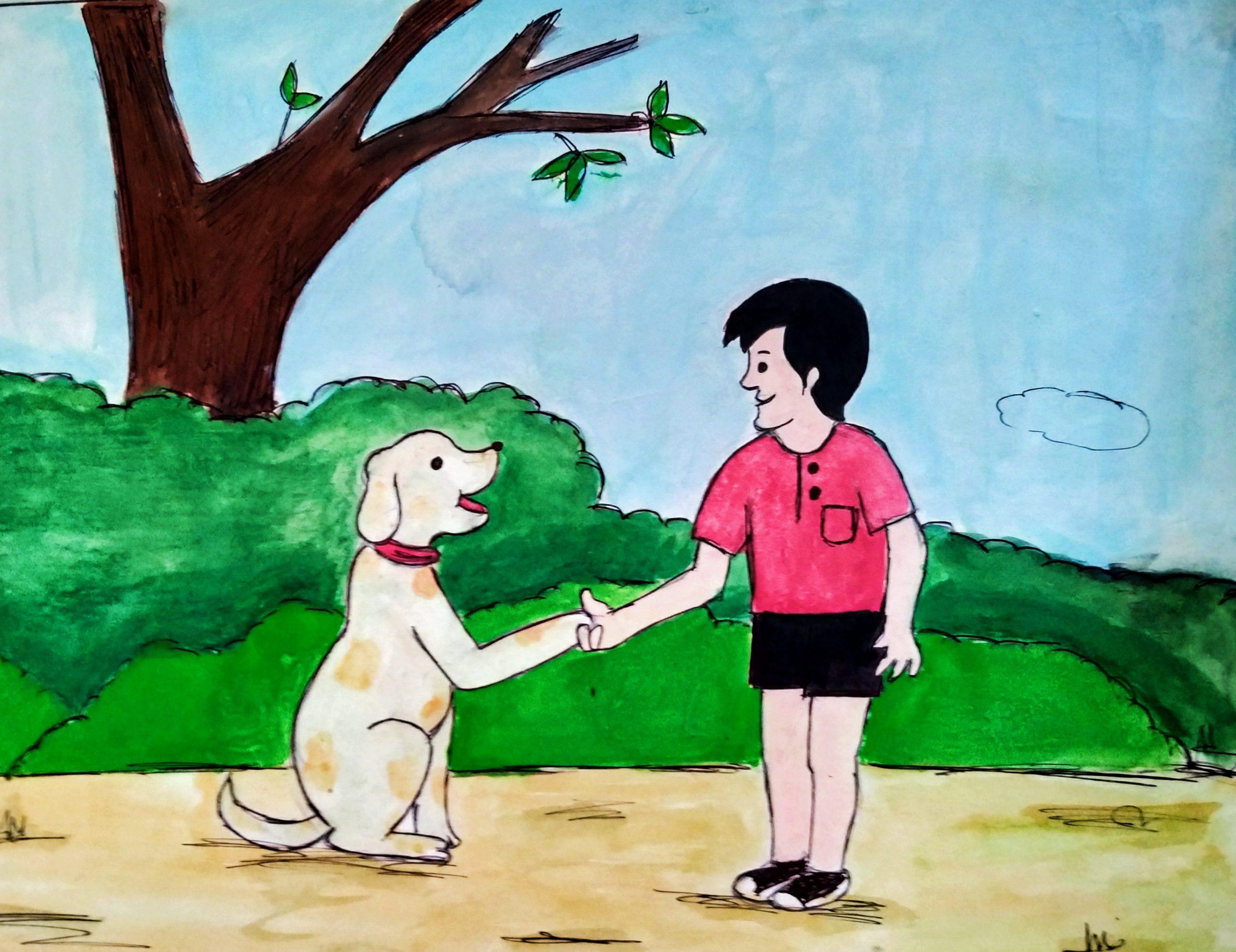 Friendship painting