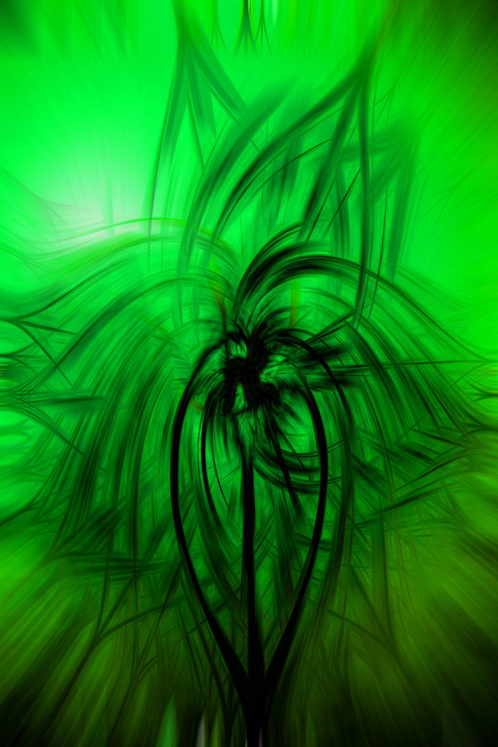 Green abstract design illustration