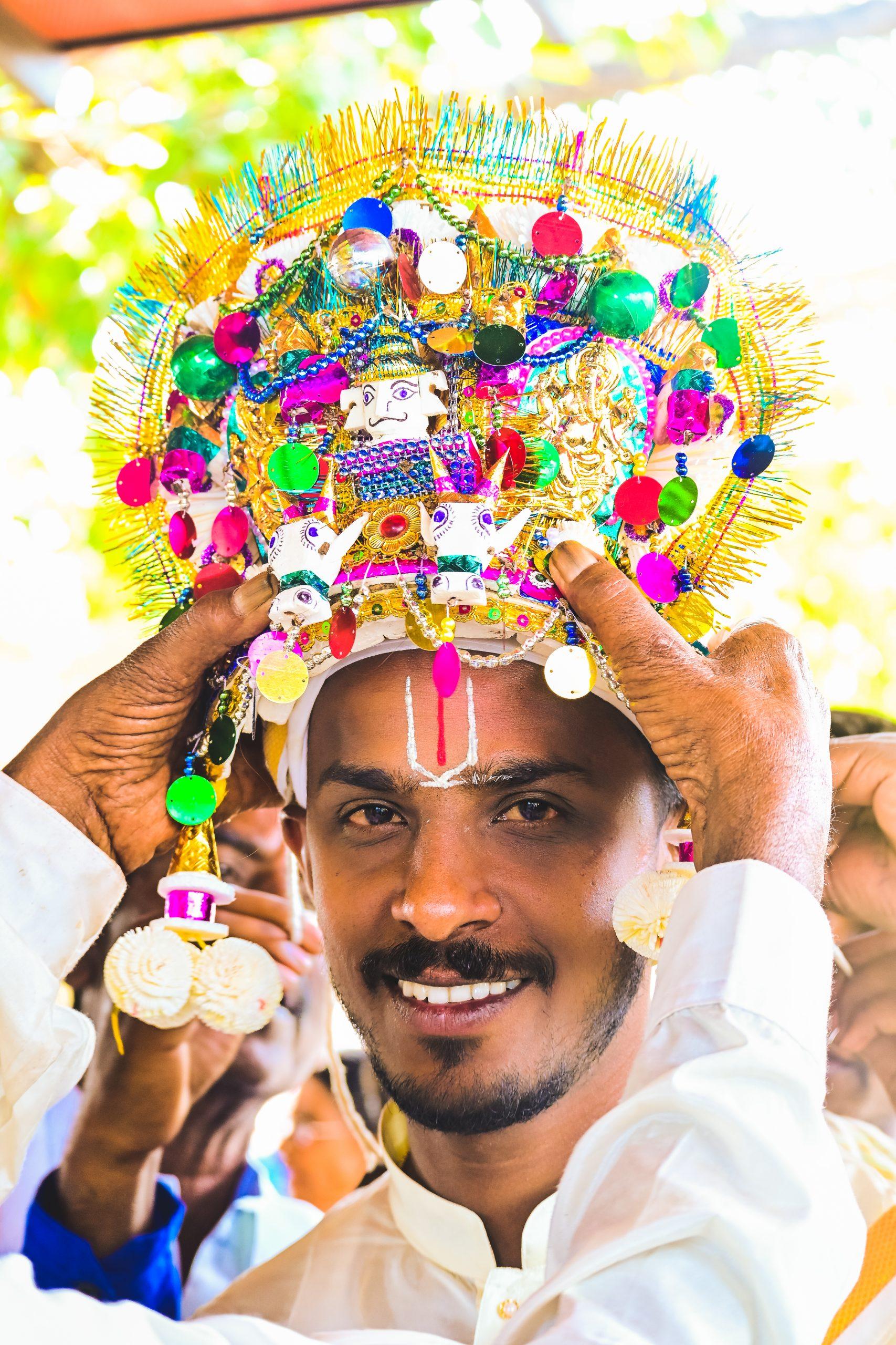 An Indian bridegroom
