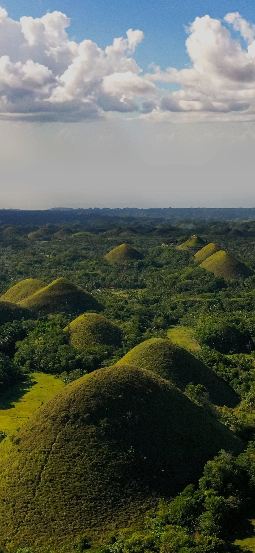 Hills in a jungle