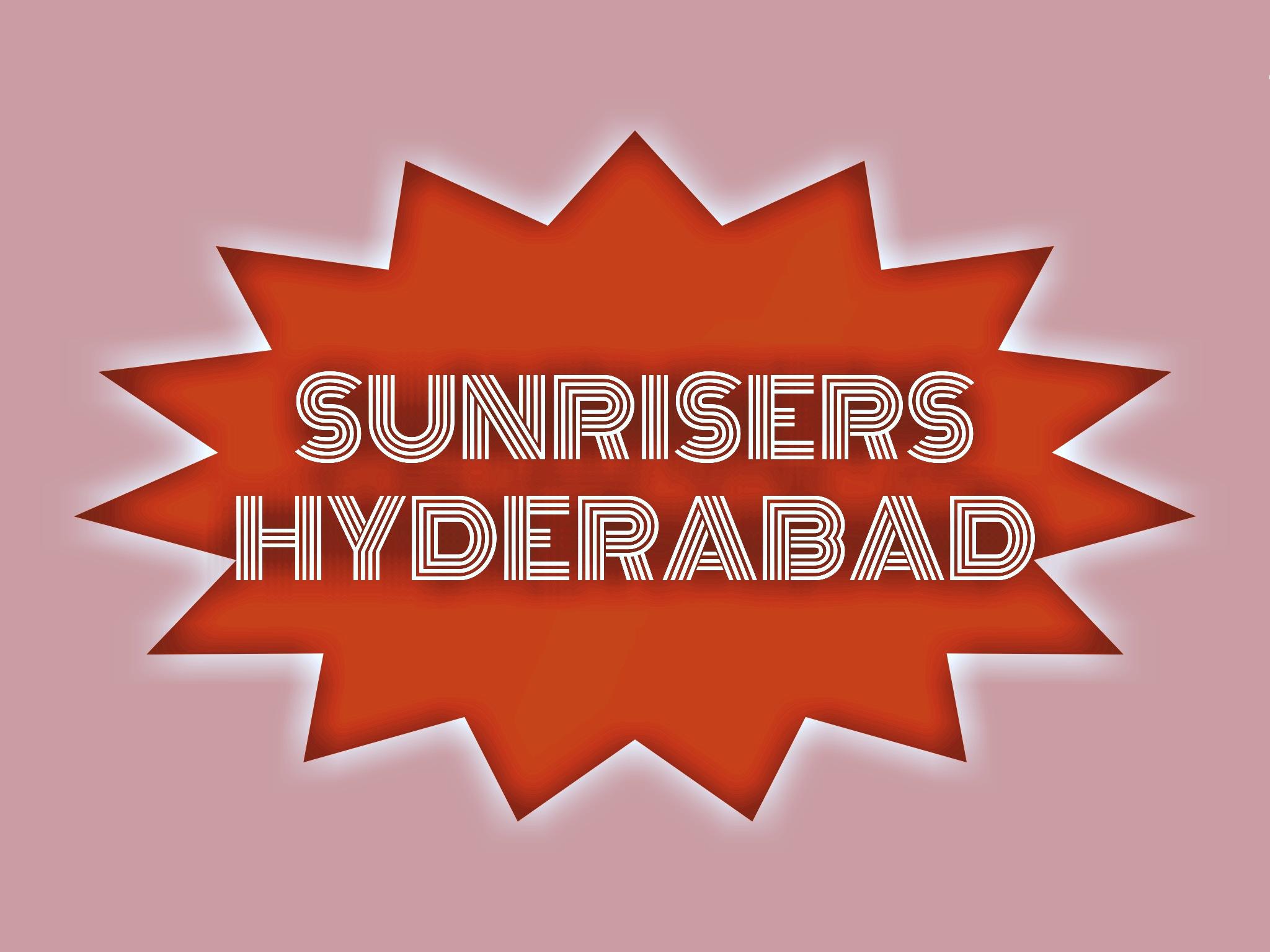IPL team Sunrisers Hyderabad