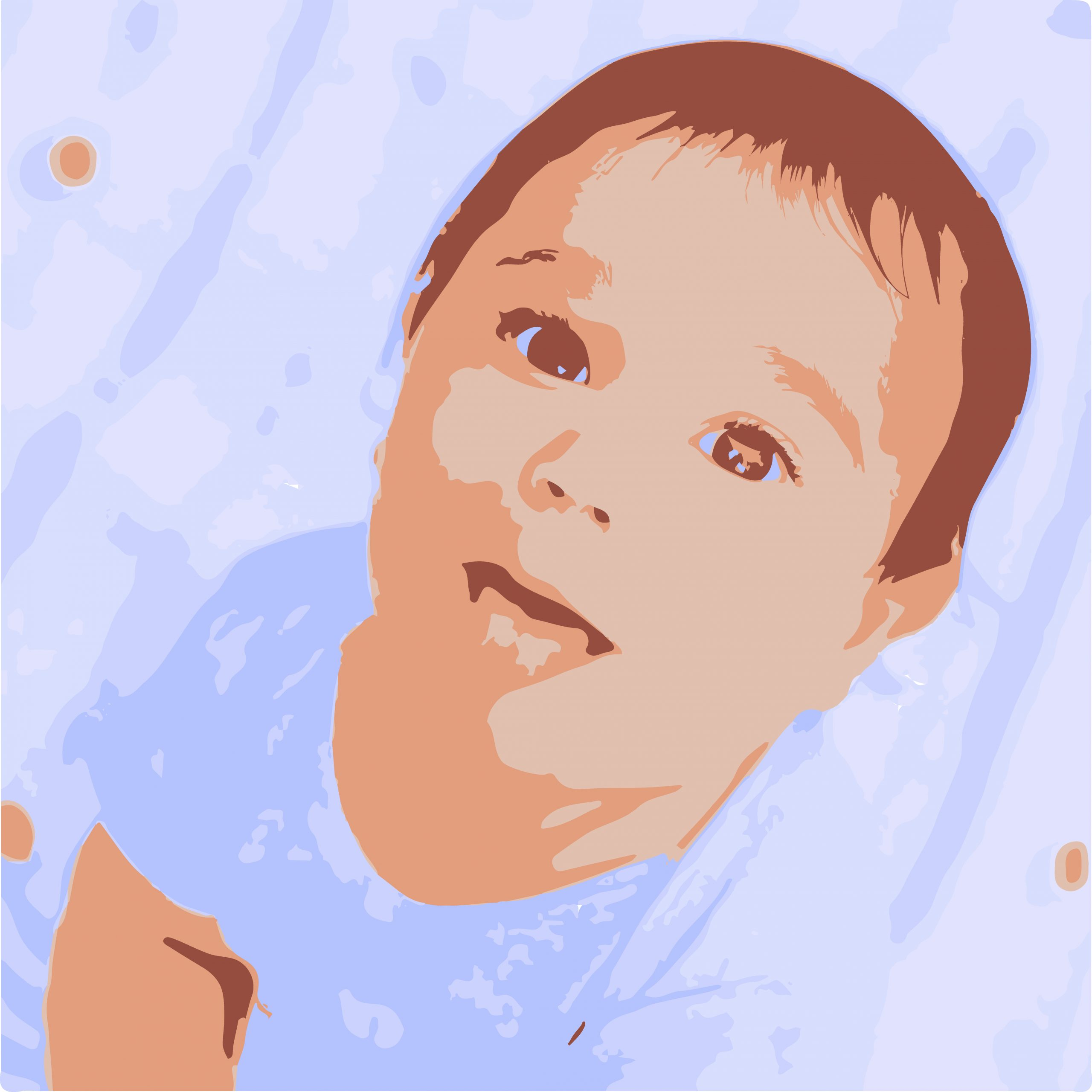 Illustration of a baby