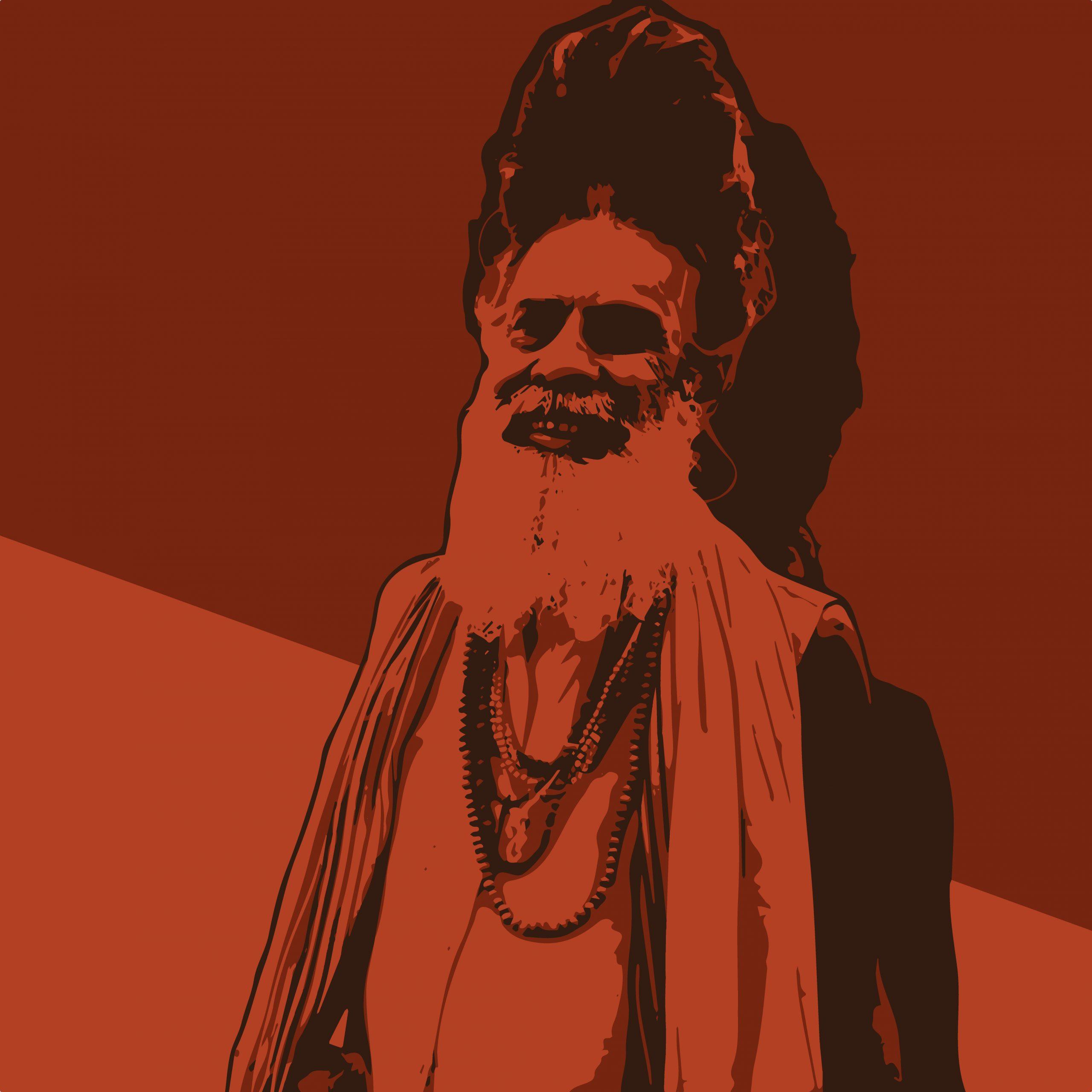 Illustration of a monk