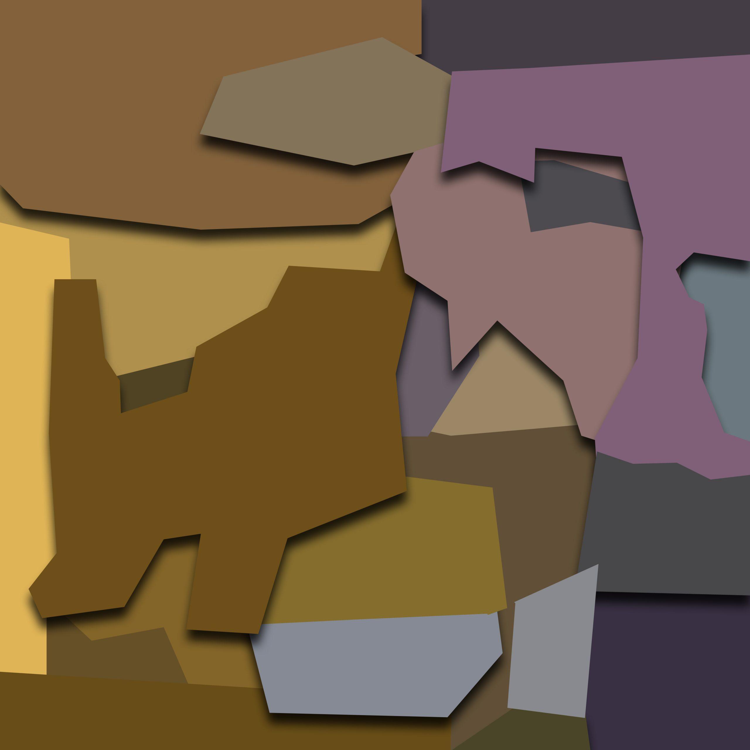Illustration of origami art
