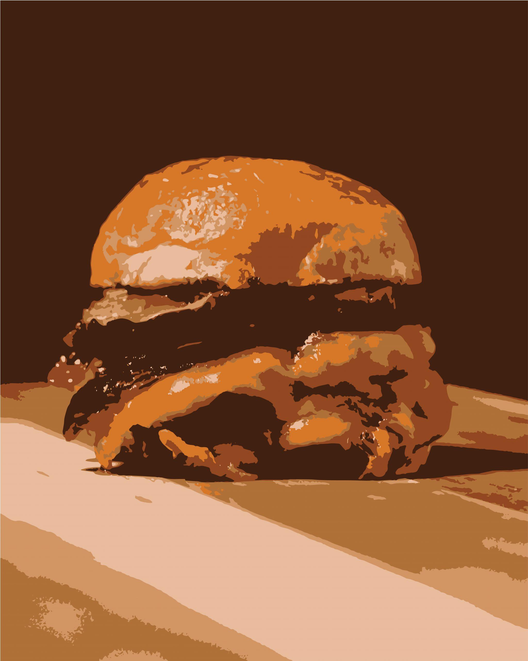 Illustrations of burger