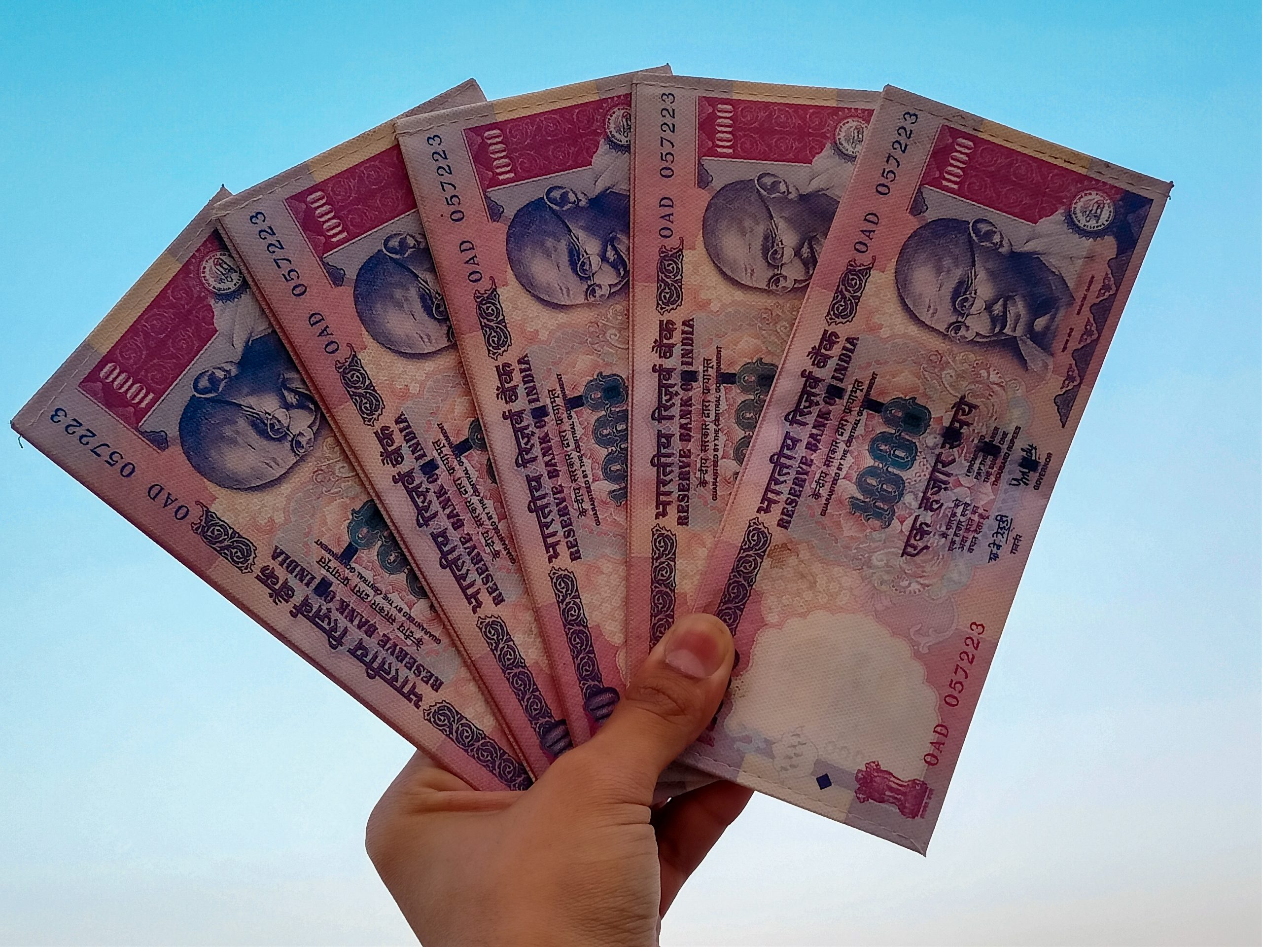 Indian currency obsolete notes