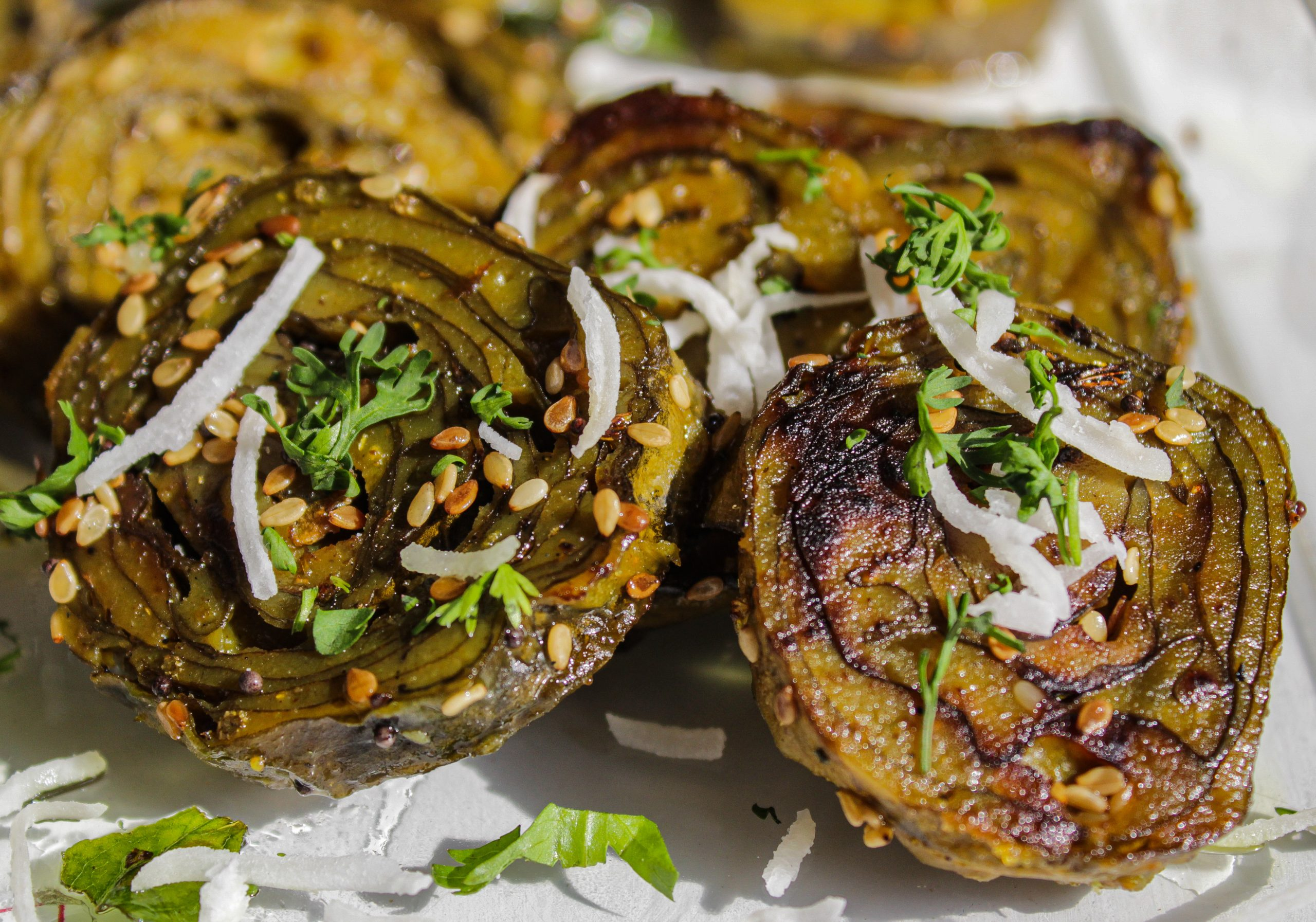 Indian food dish patra