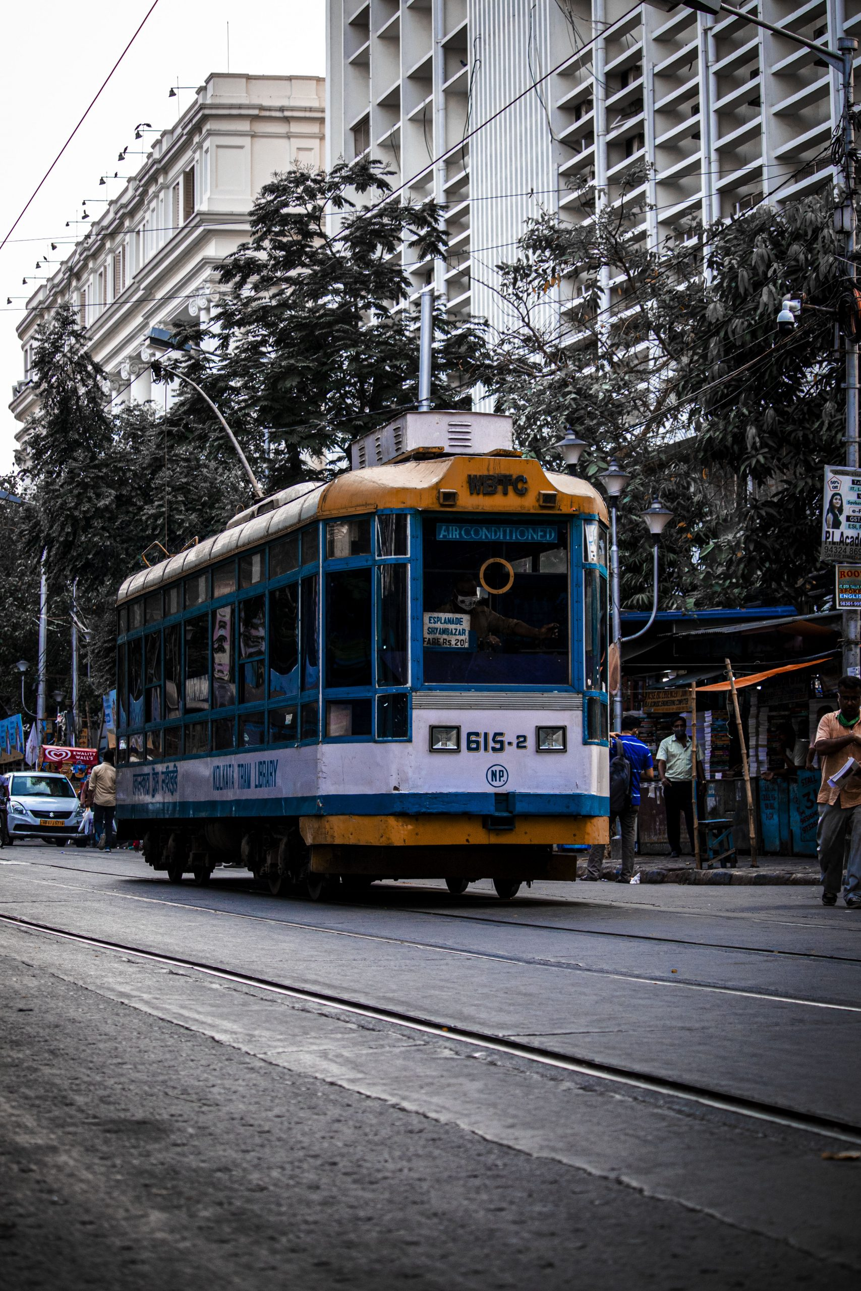 Tram train in Kolkata