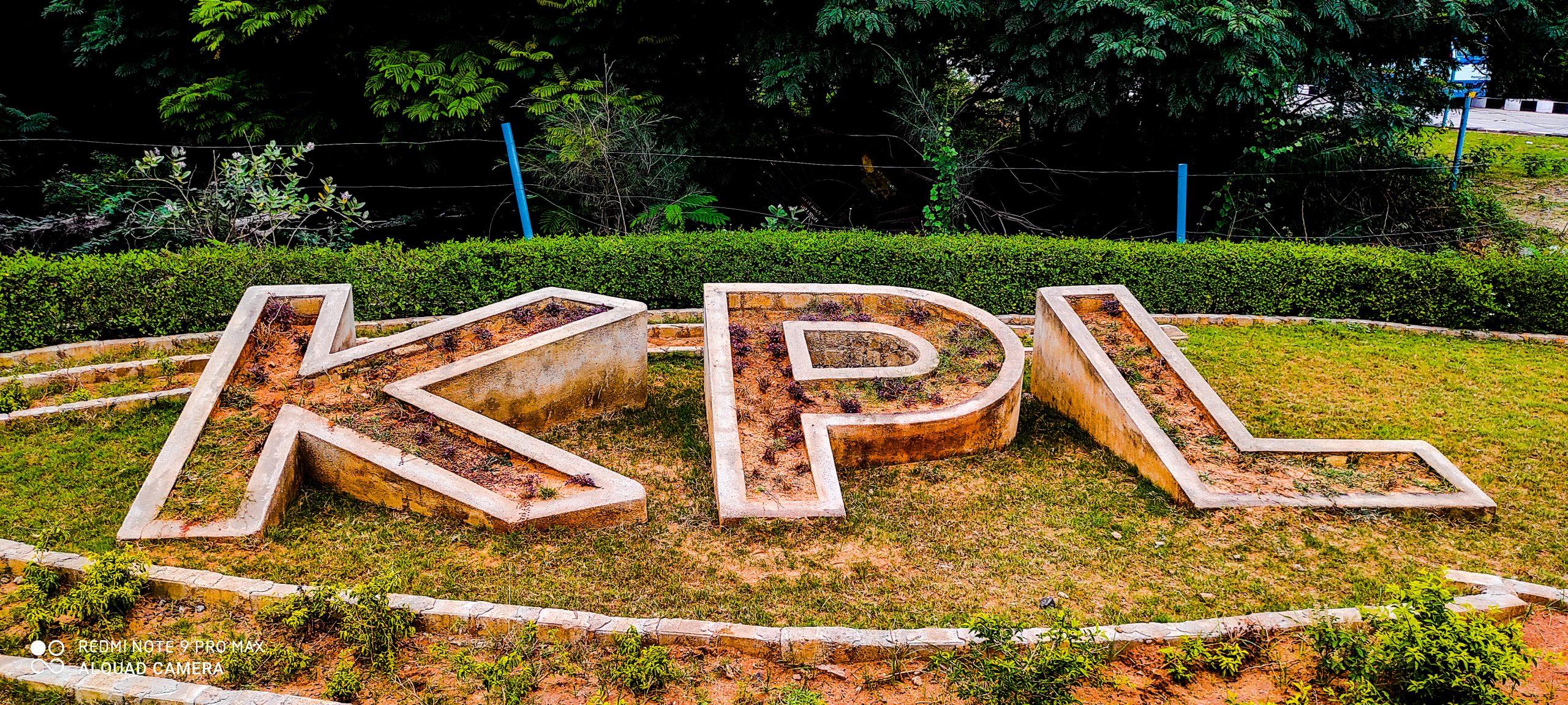 Logo in the garden