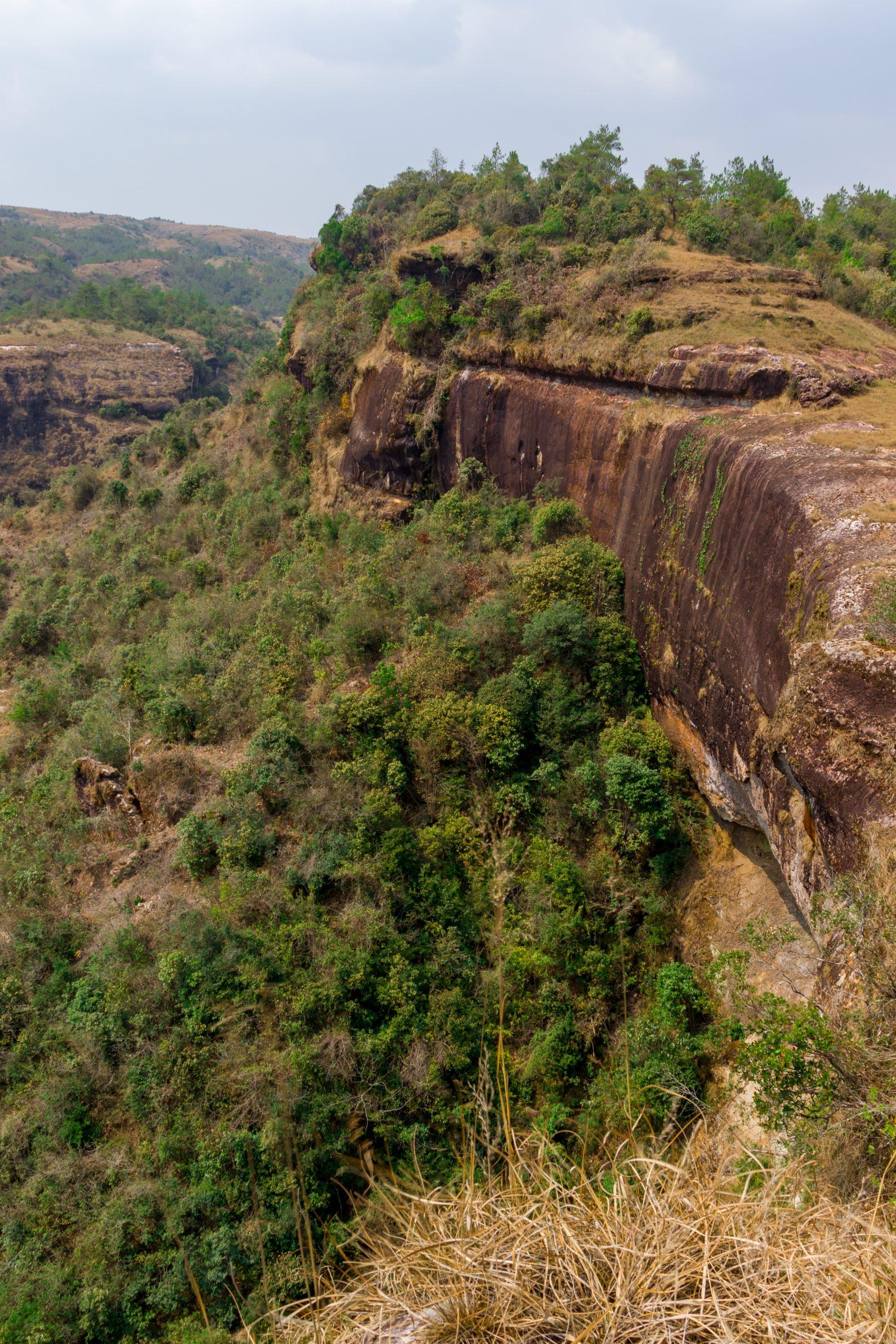 Long cliff