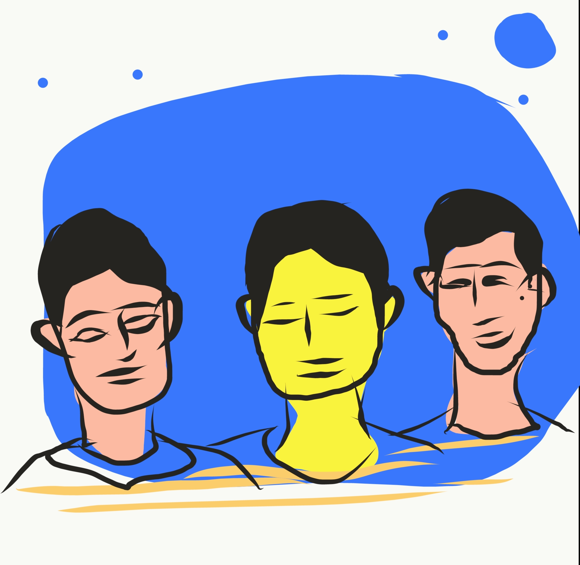 Man Face Illustration