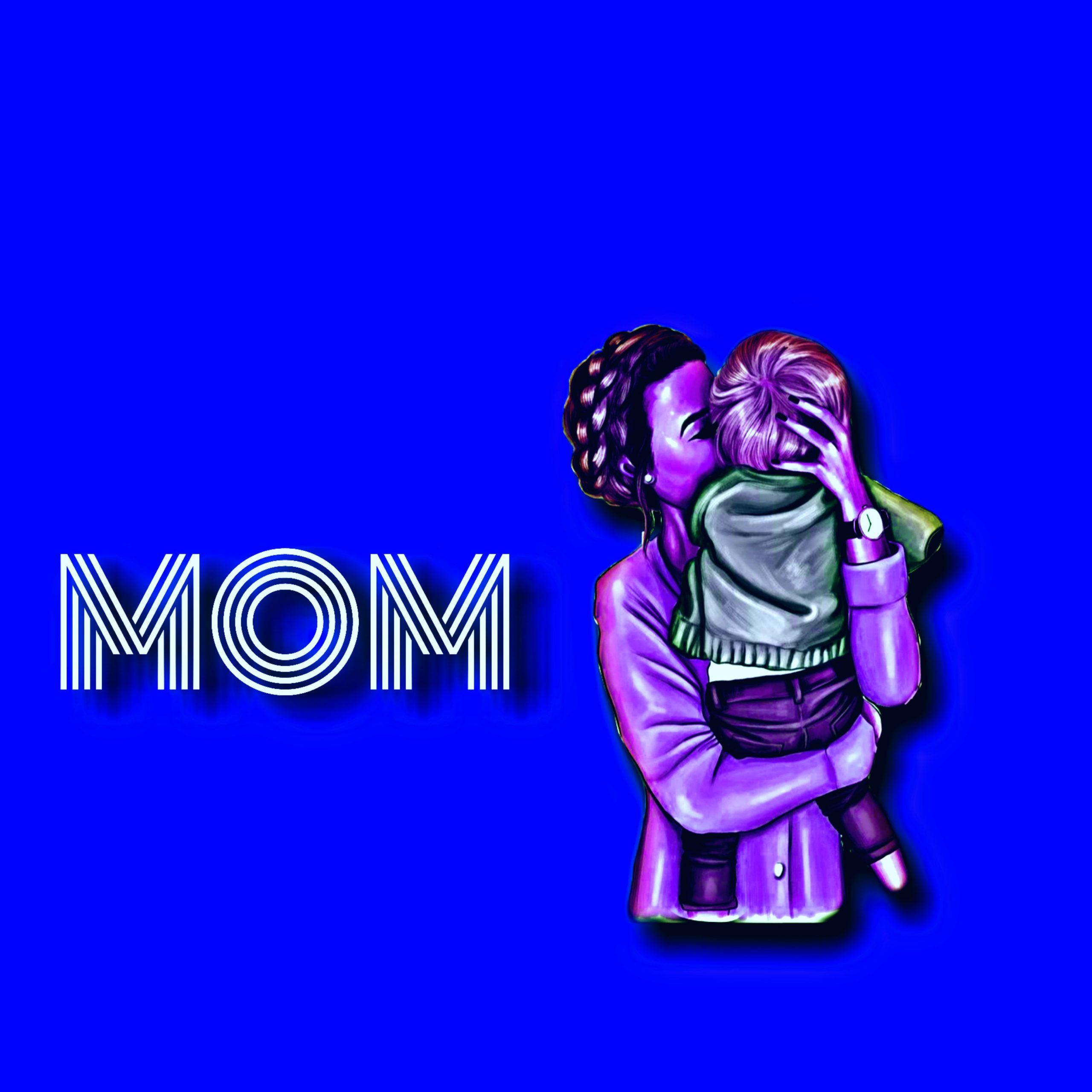 Mom and child illustration